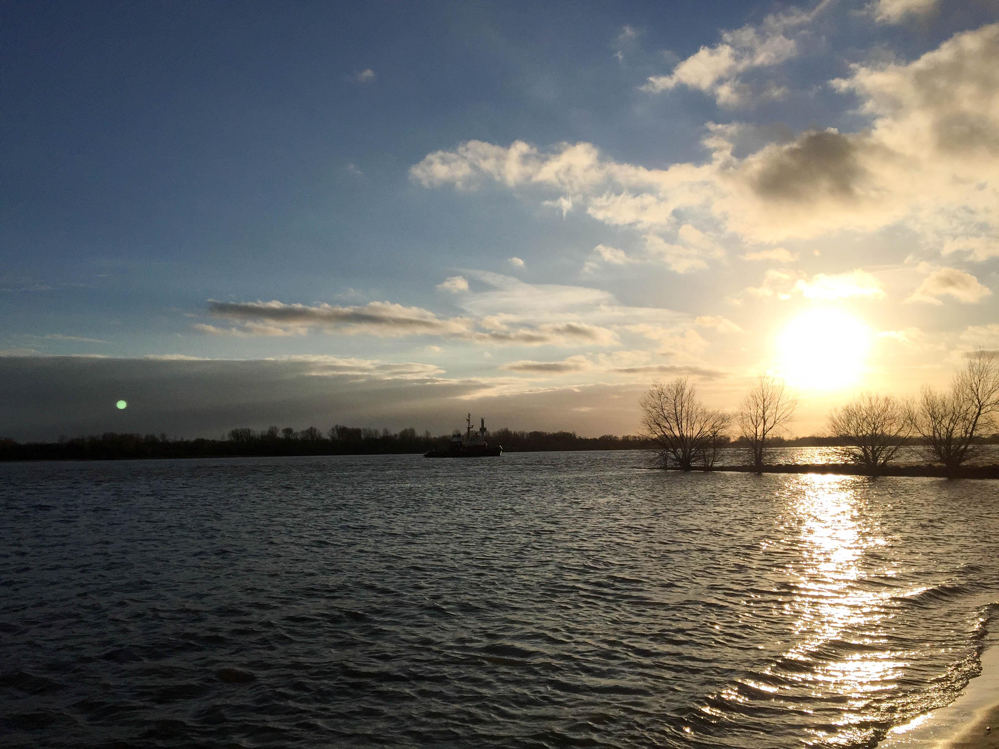 Elbe am Nachmittag