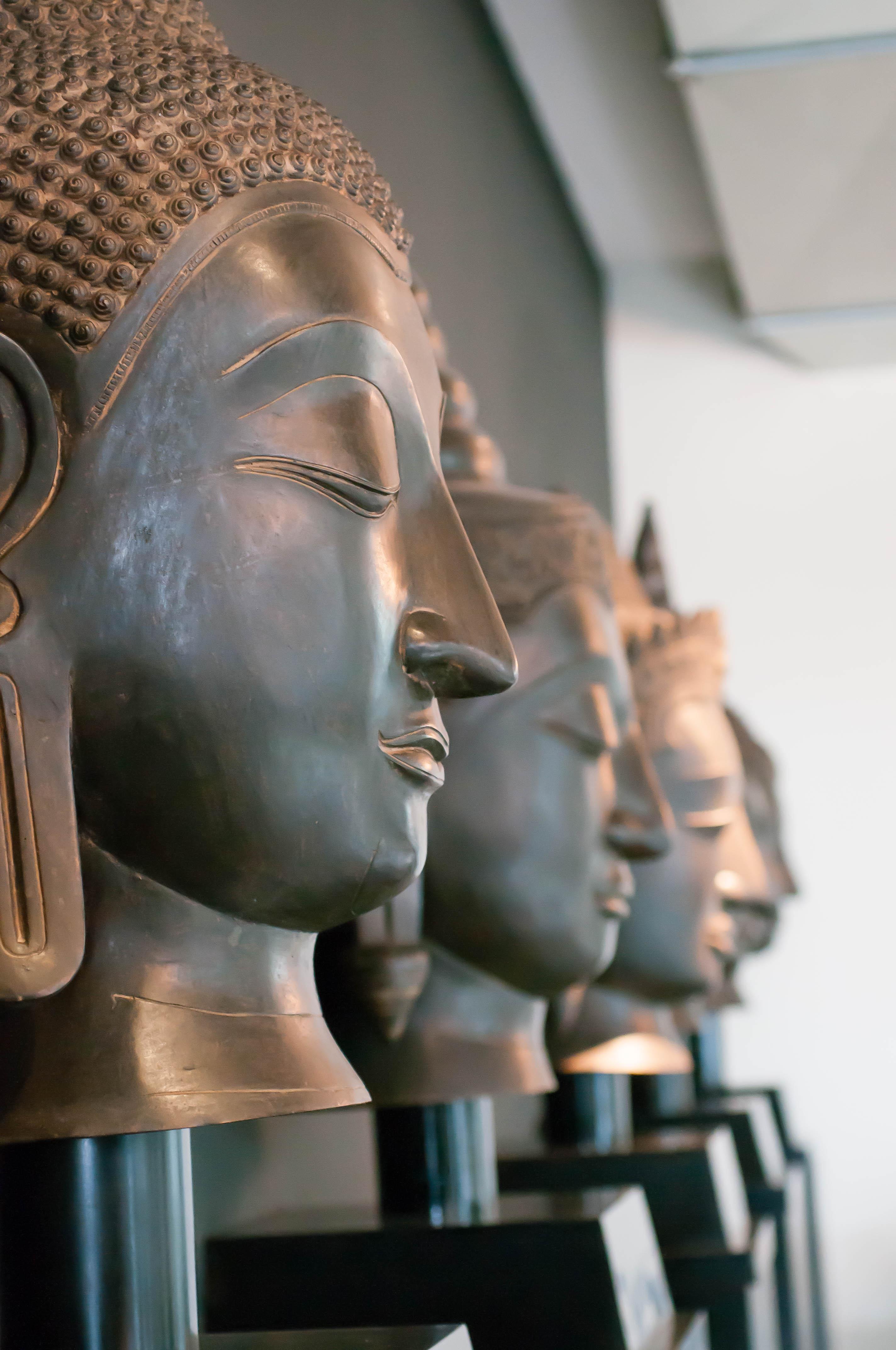 Buddha Köpfe IndoChine
