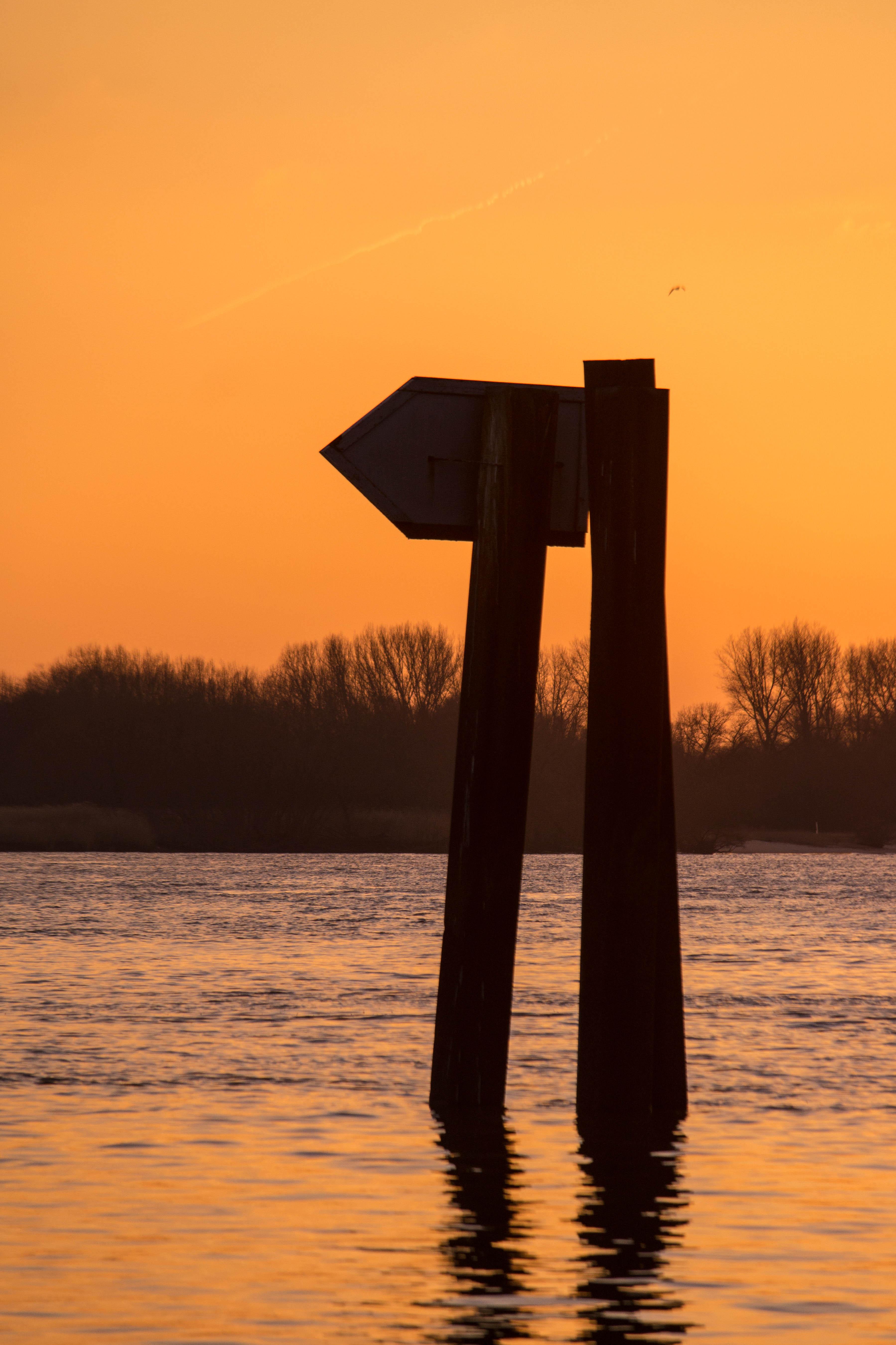 Blankenese Sonnenuntergang