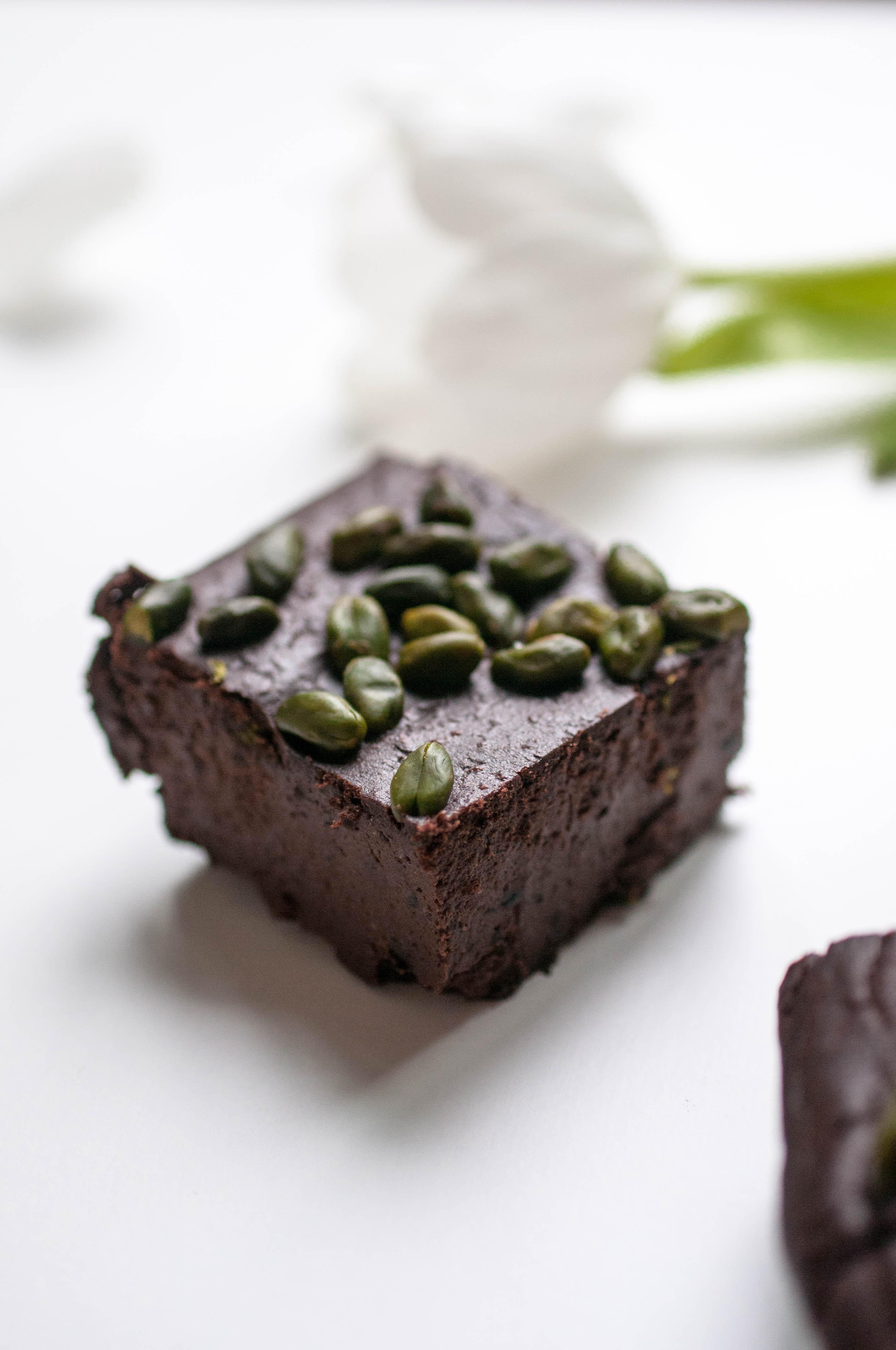 schwarze Bohnen Brownies