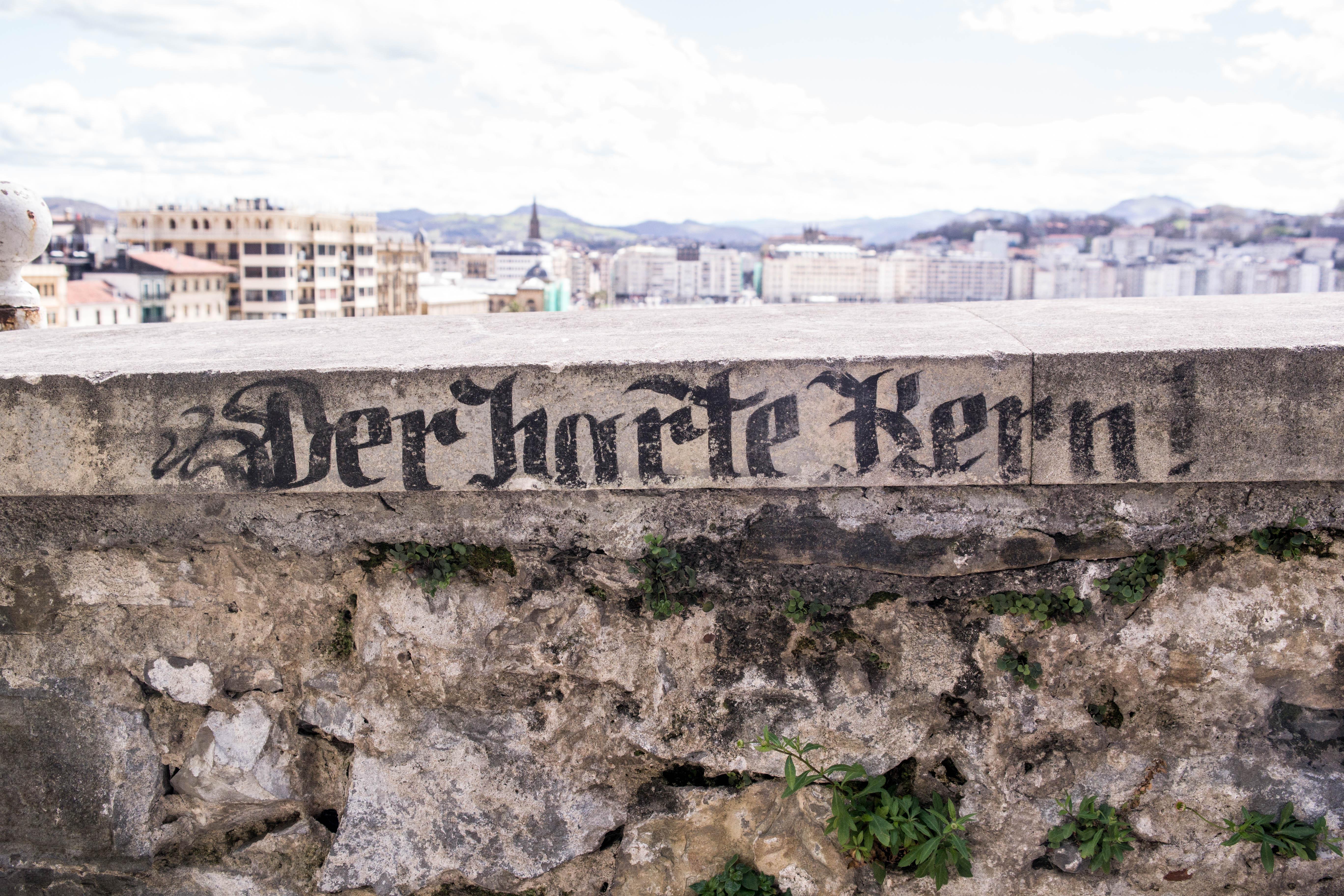 Mauer in San Sebastian
