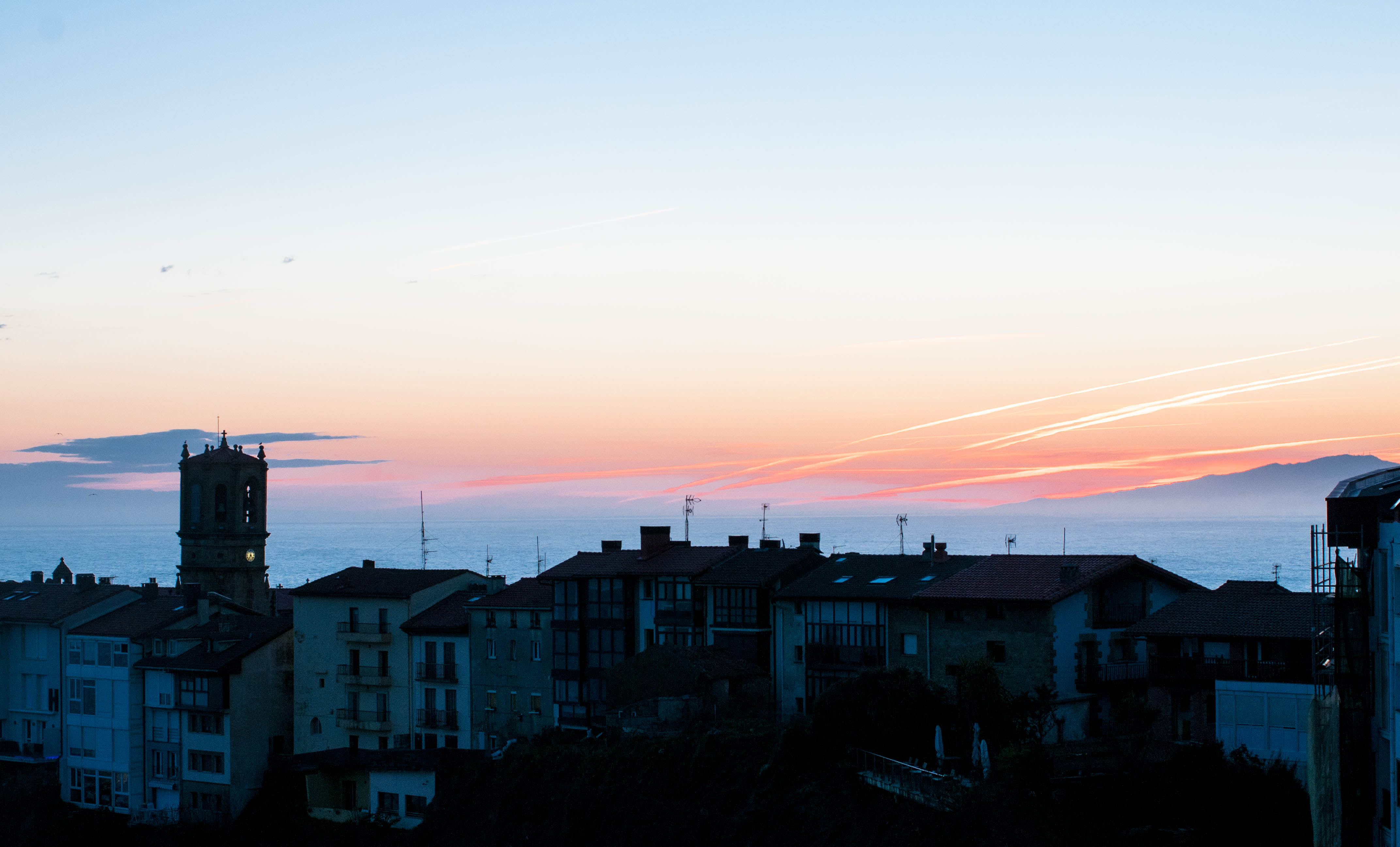 Sonnenaufgang Getaria