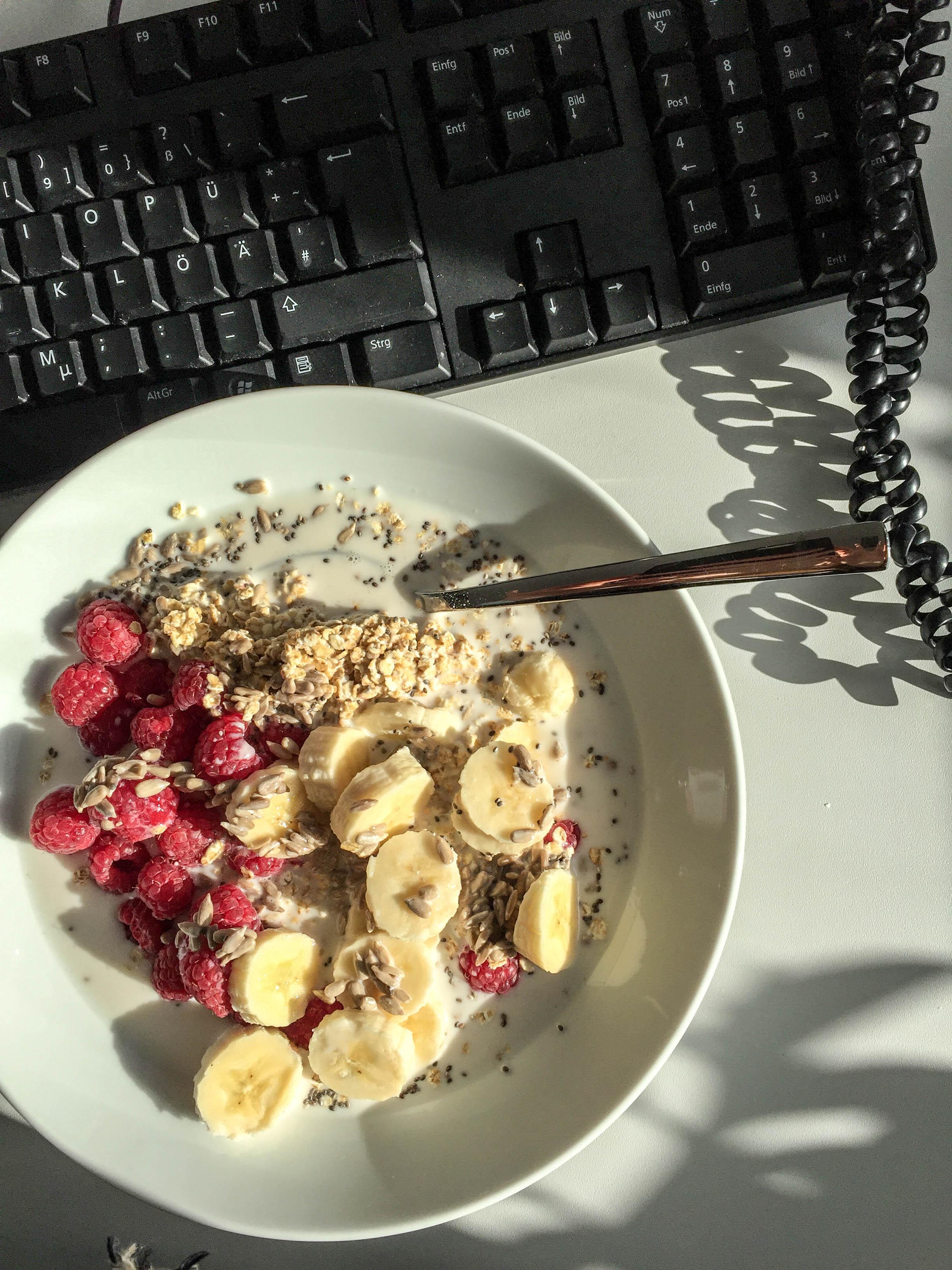 Frühstück im Büro