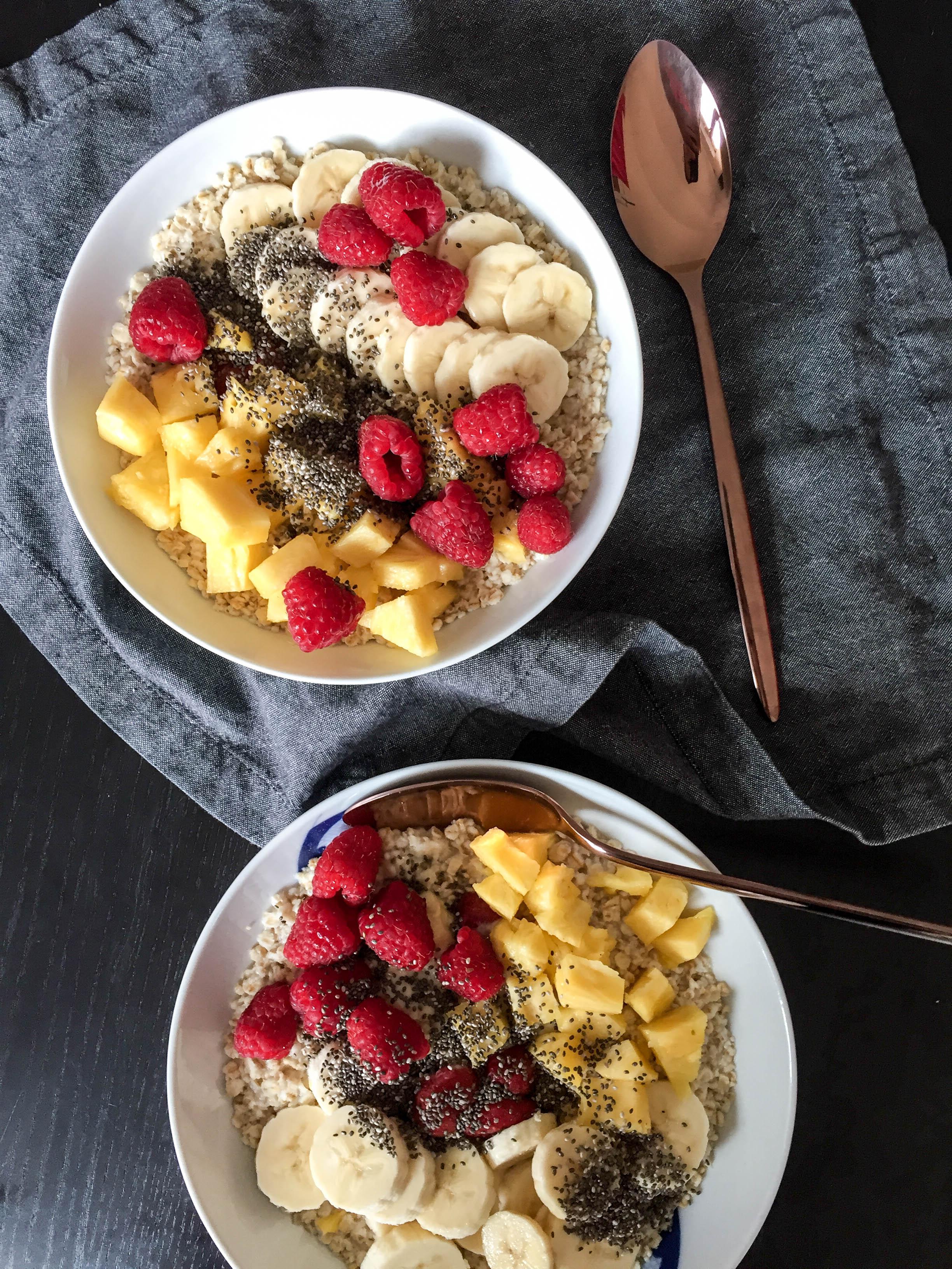 Frühstücksschüsseln