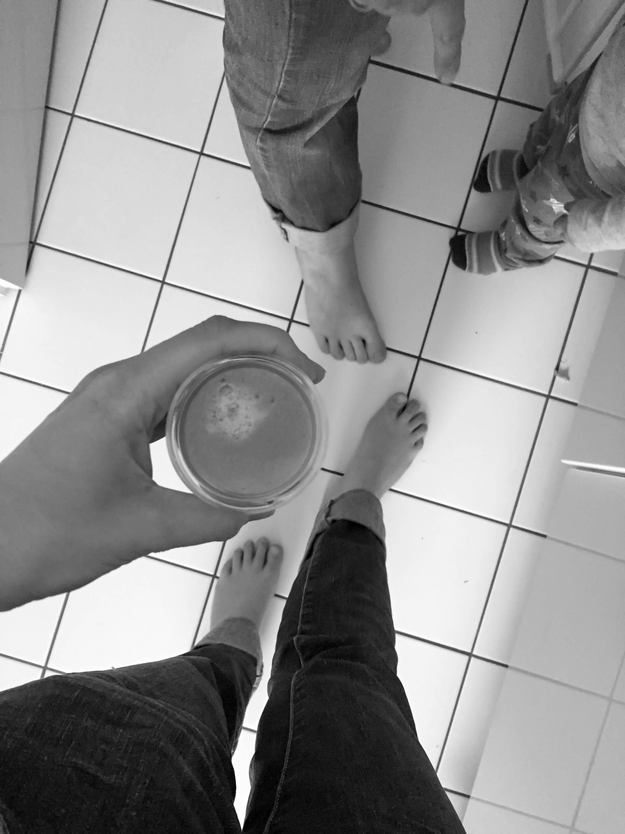 Fußselfie