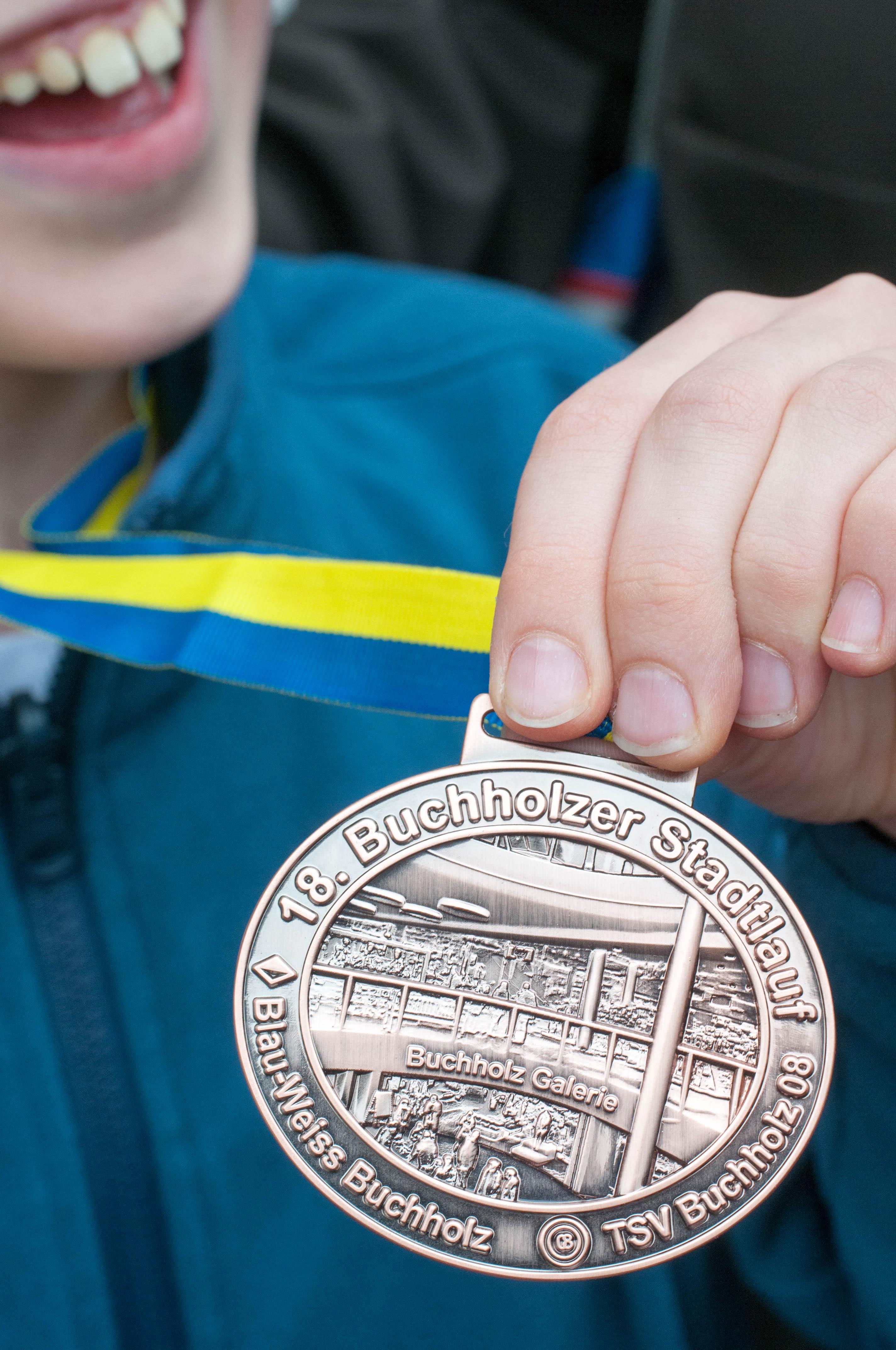 Buchholzer Stadtlauf Medaille