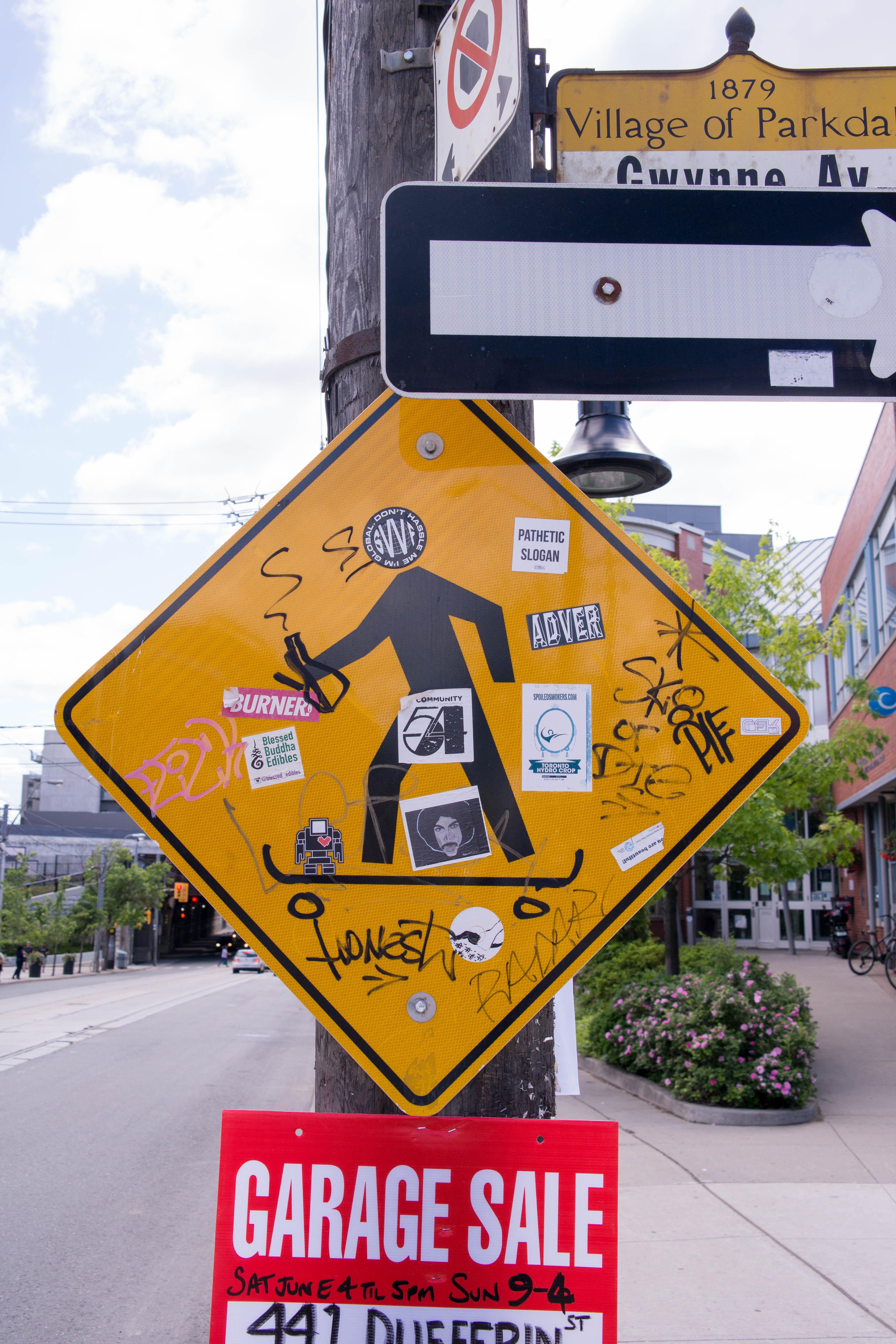 Skater Street sign