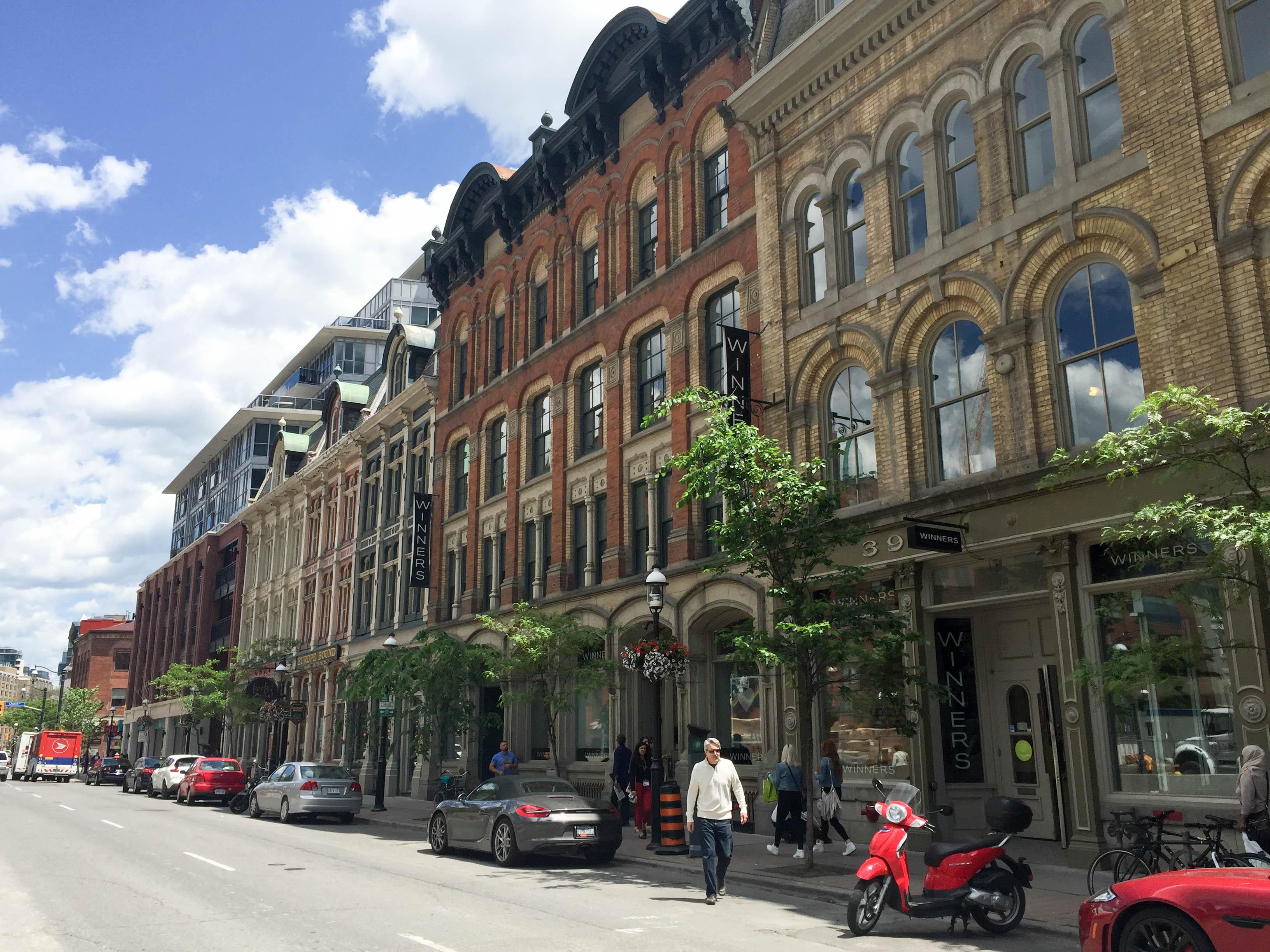 Front Street East Toronto