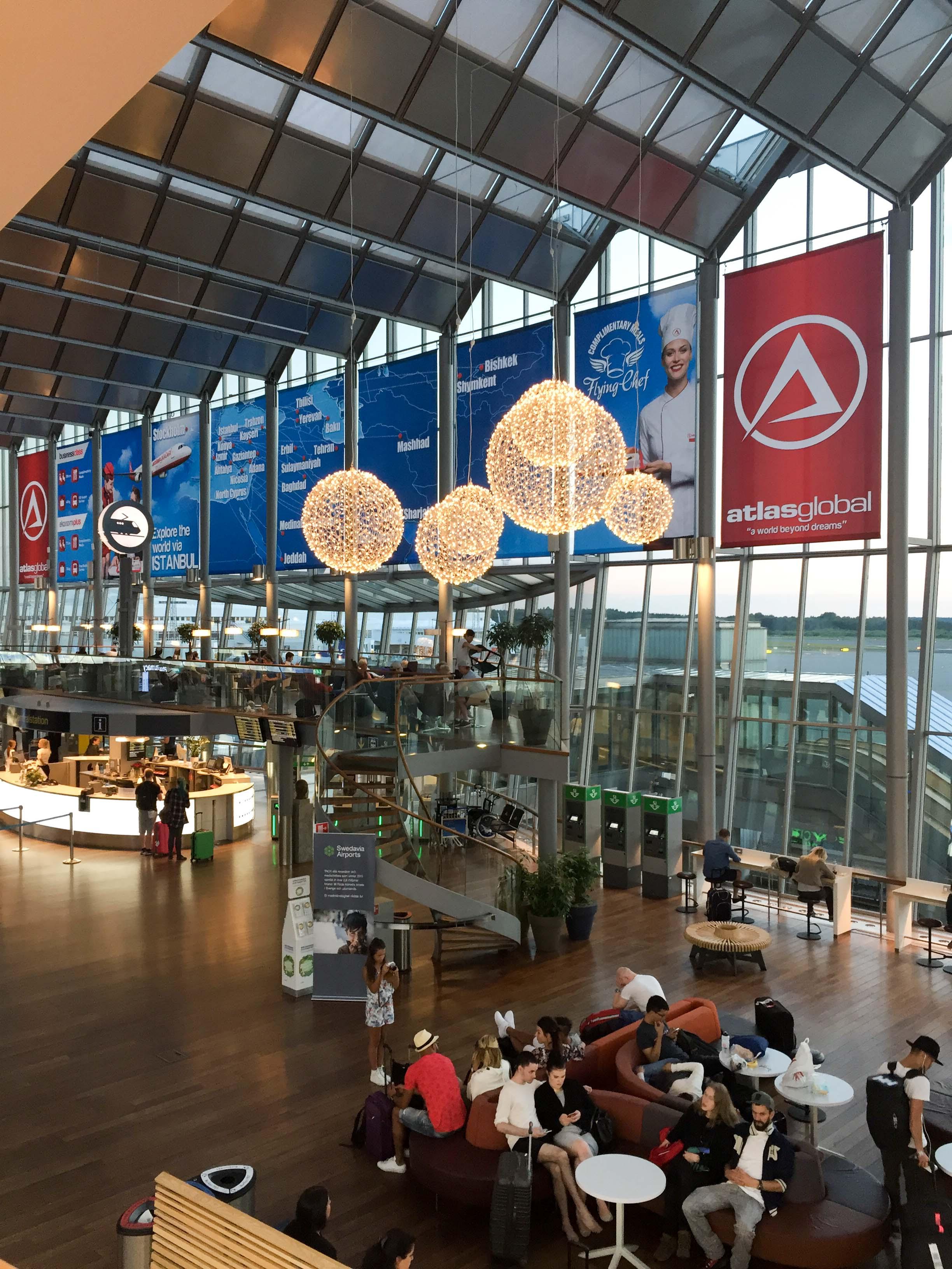Stockholm Arland Flughafen