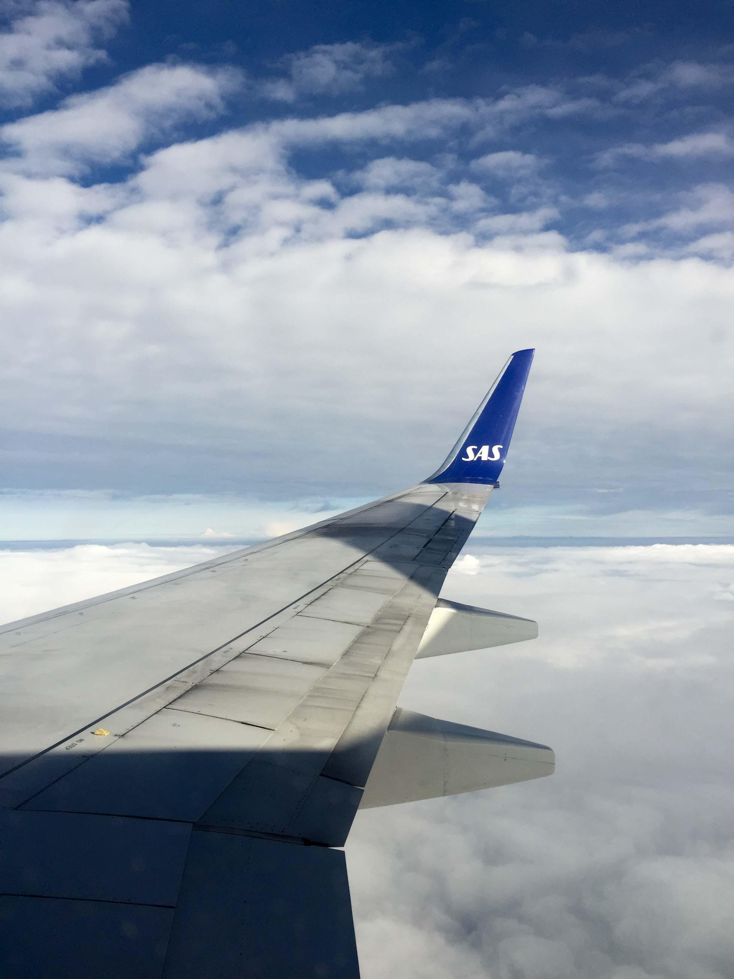 SAS Flugzeug