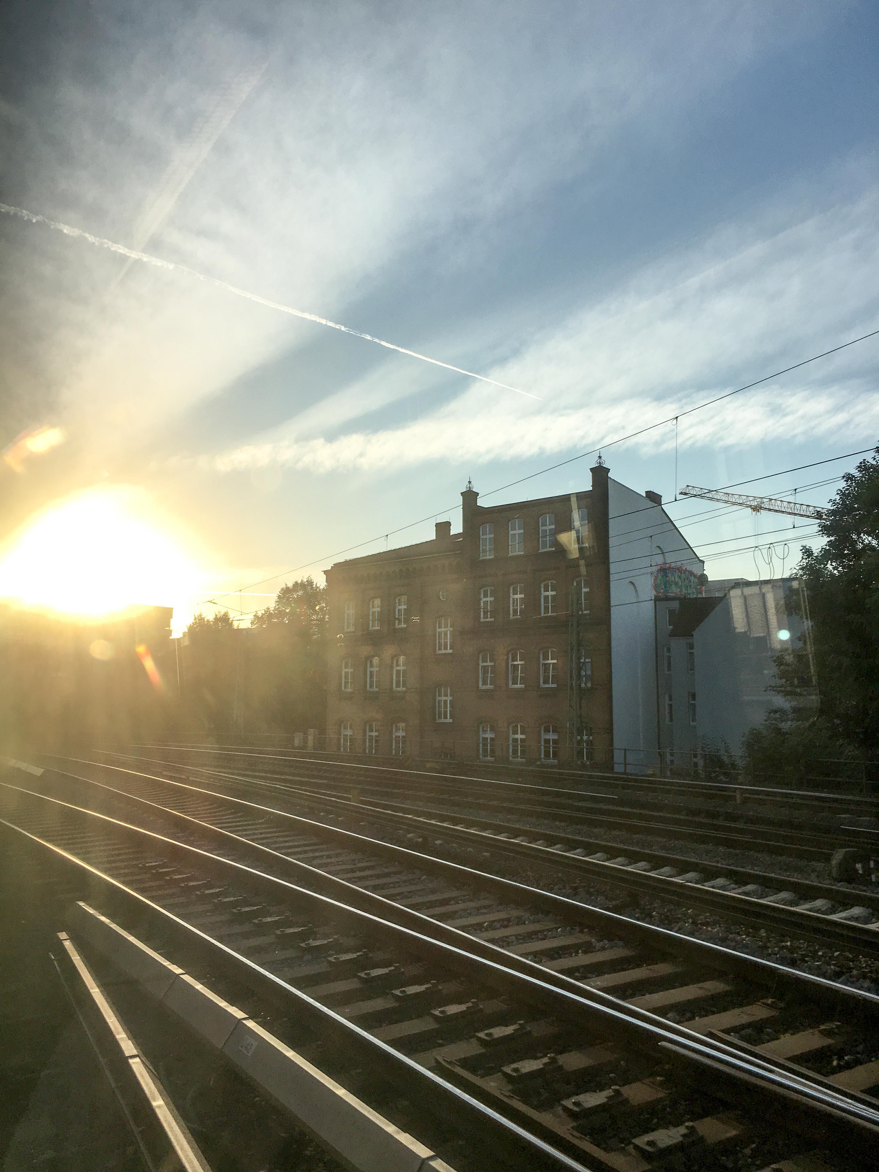 S-Bahn Fahrt Hamburg