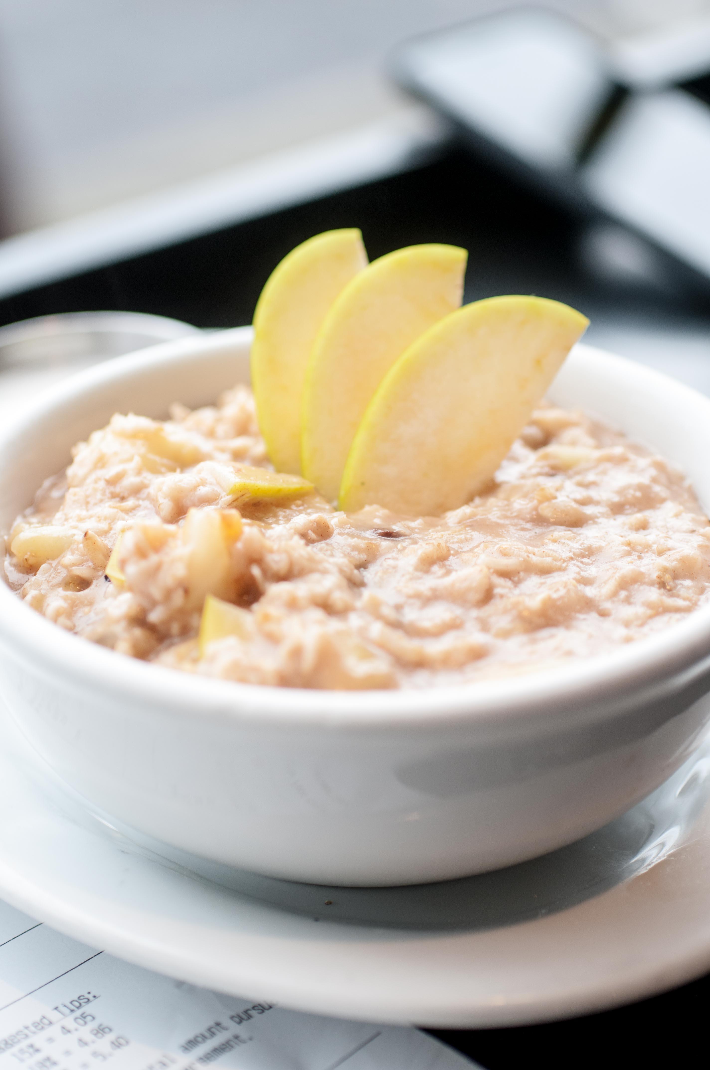 Hot oatmeal Harlow Portland