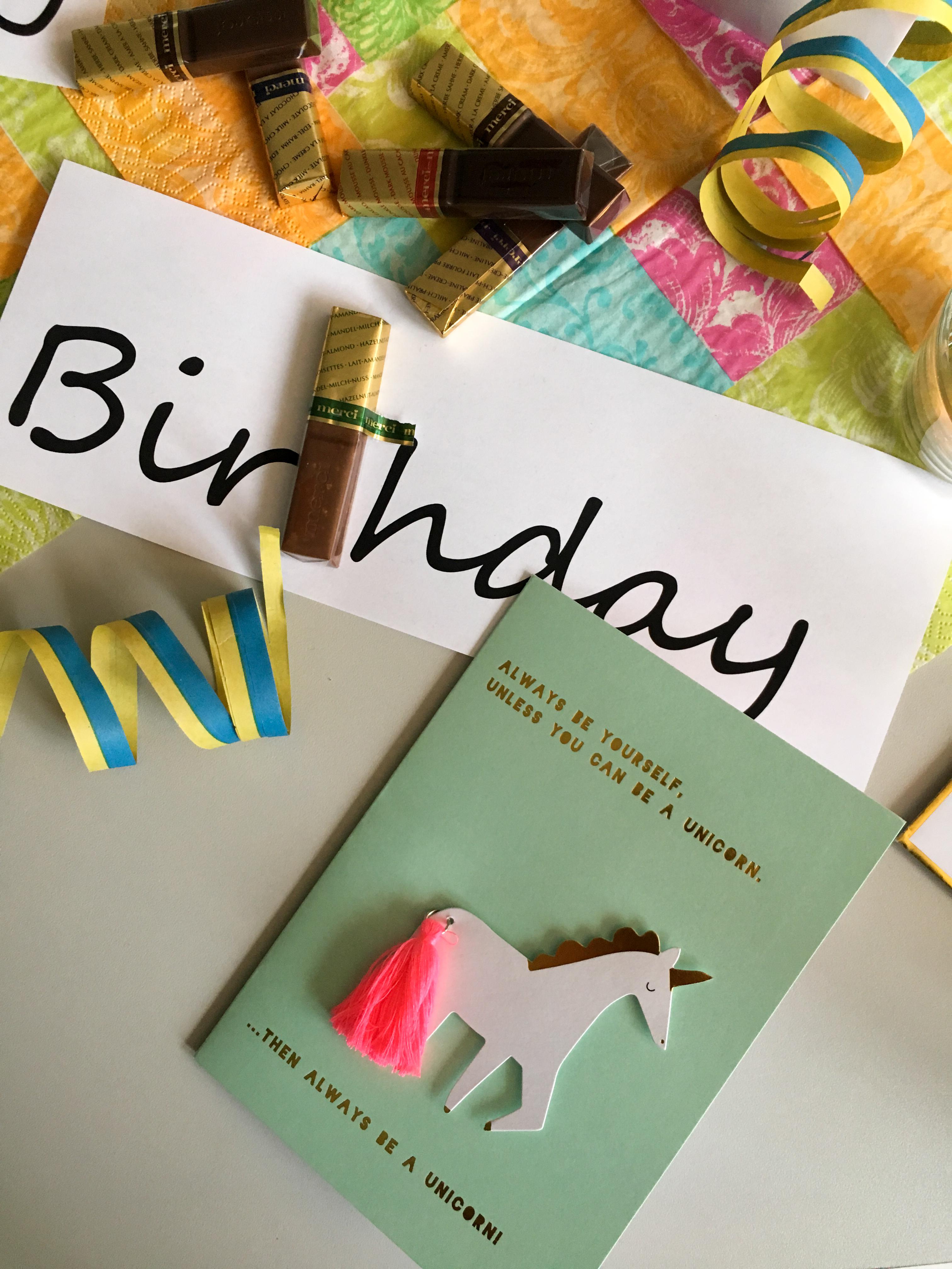 mein Geburtstagstisch Büro