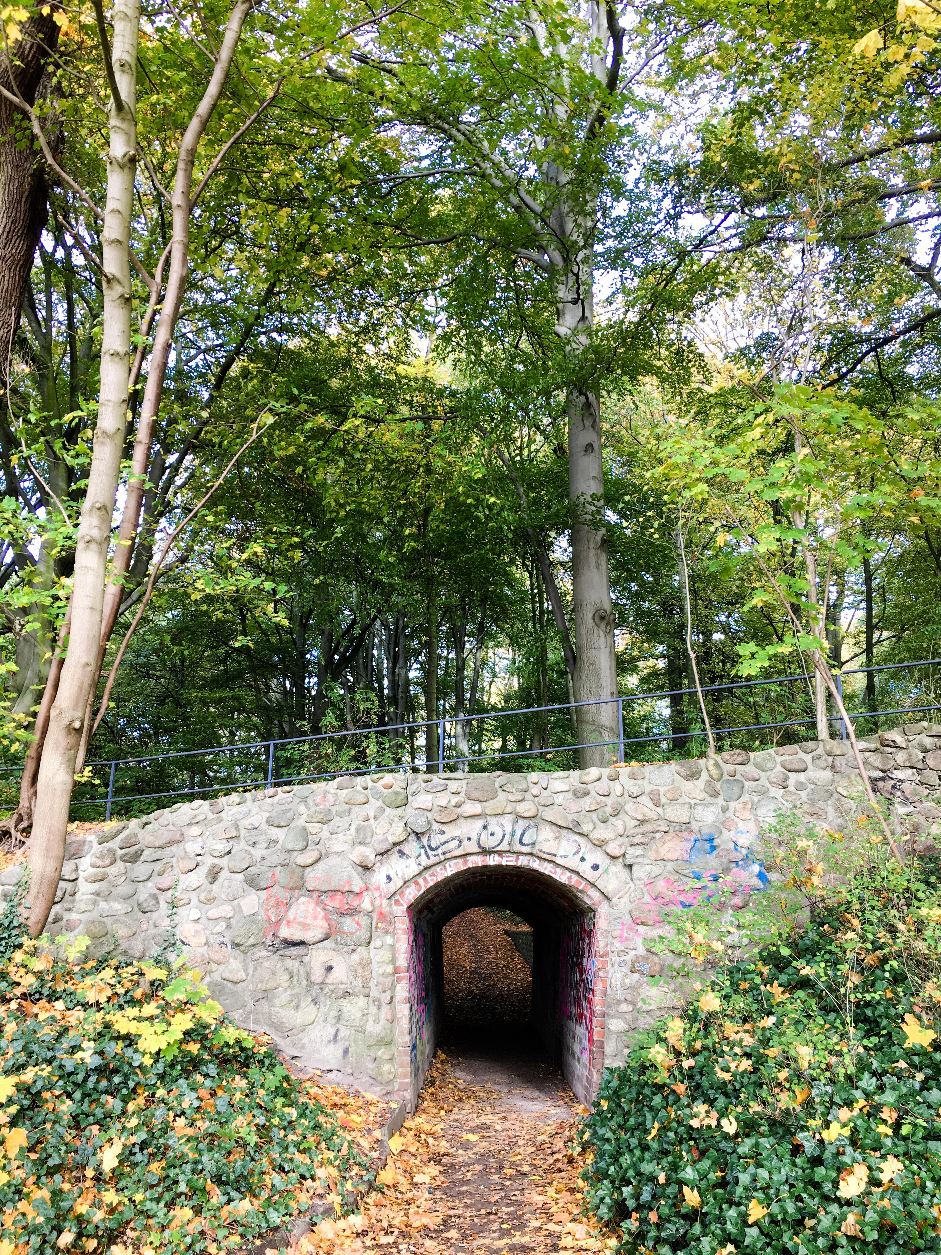 Unterführung Hirschpark Hamburg