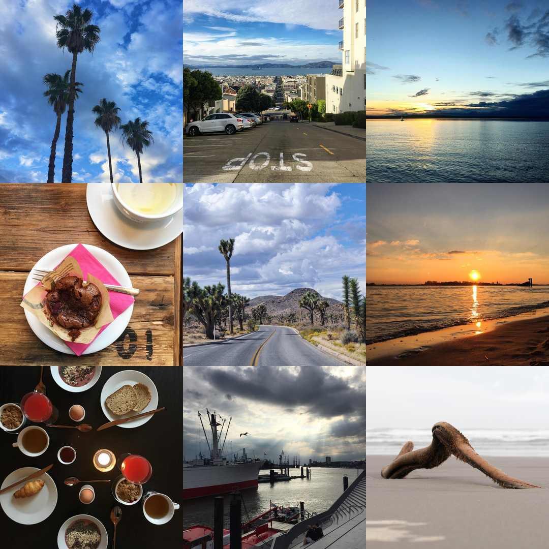 Best Nine Instagram 2016