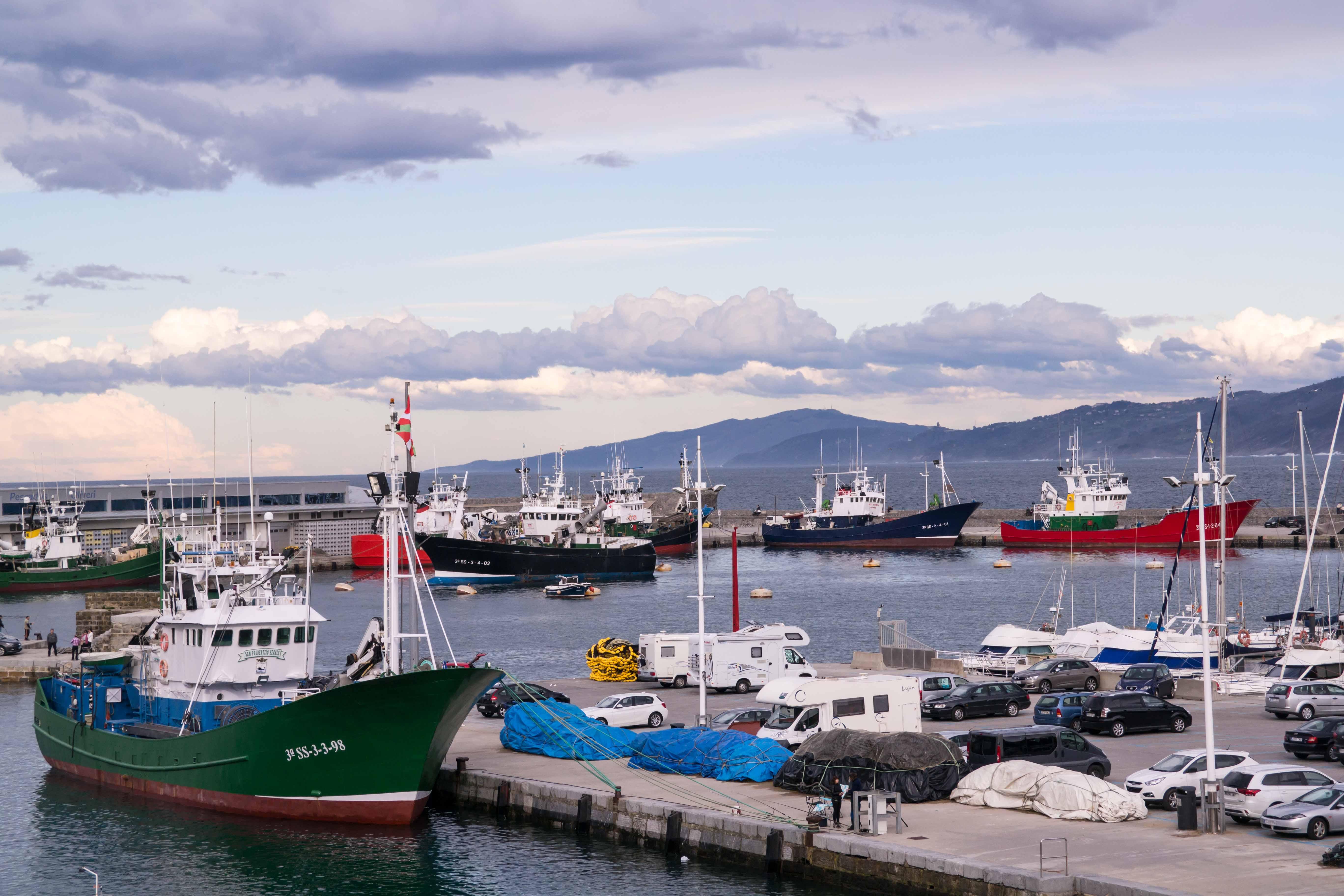 Hafen Getaria Baskenland