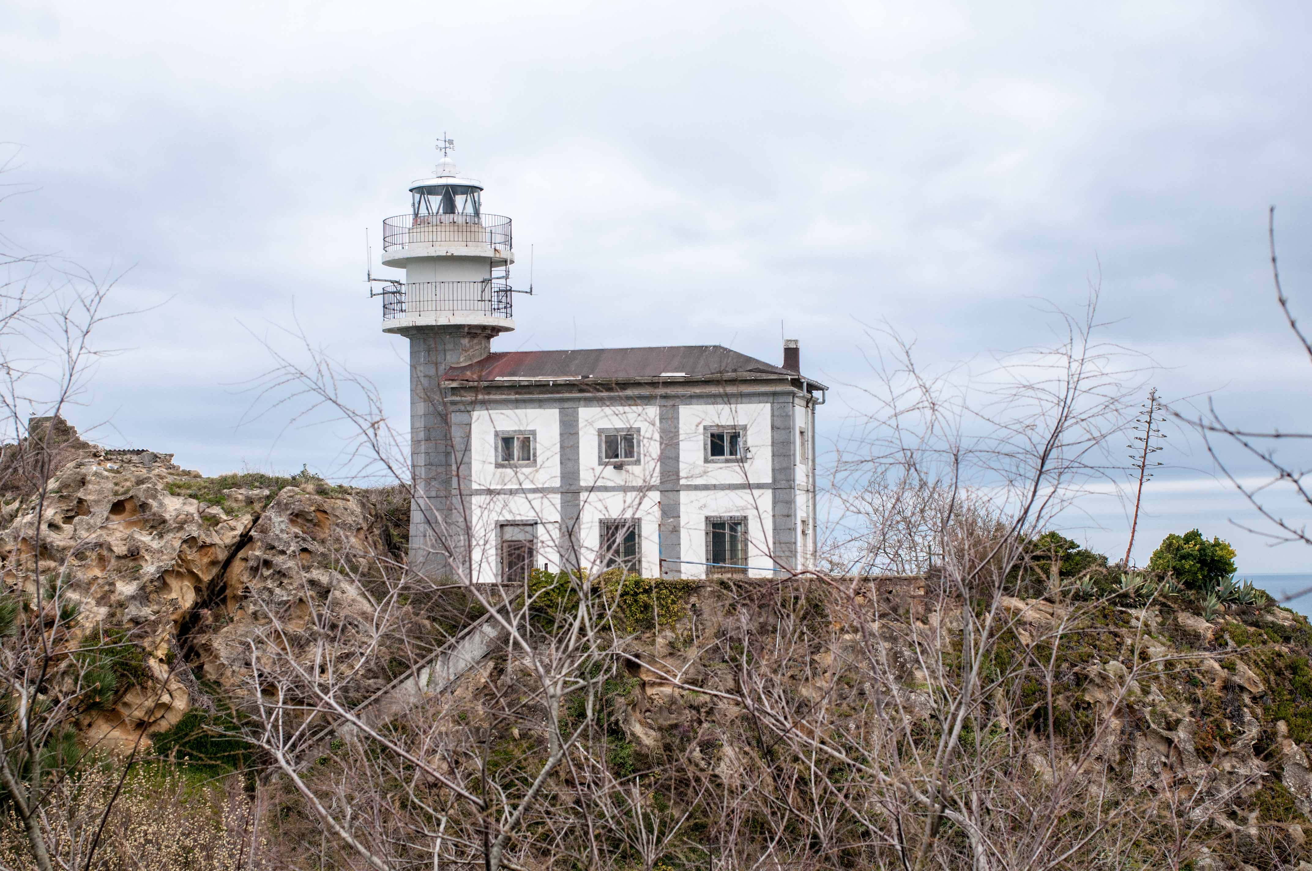 Leuchtturm Getaria Baskenland