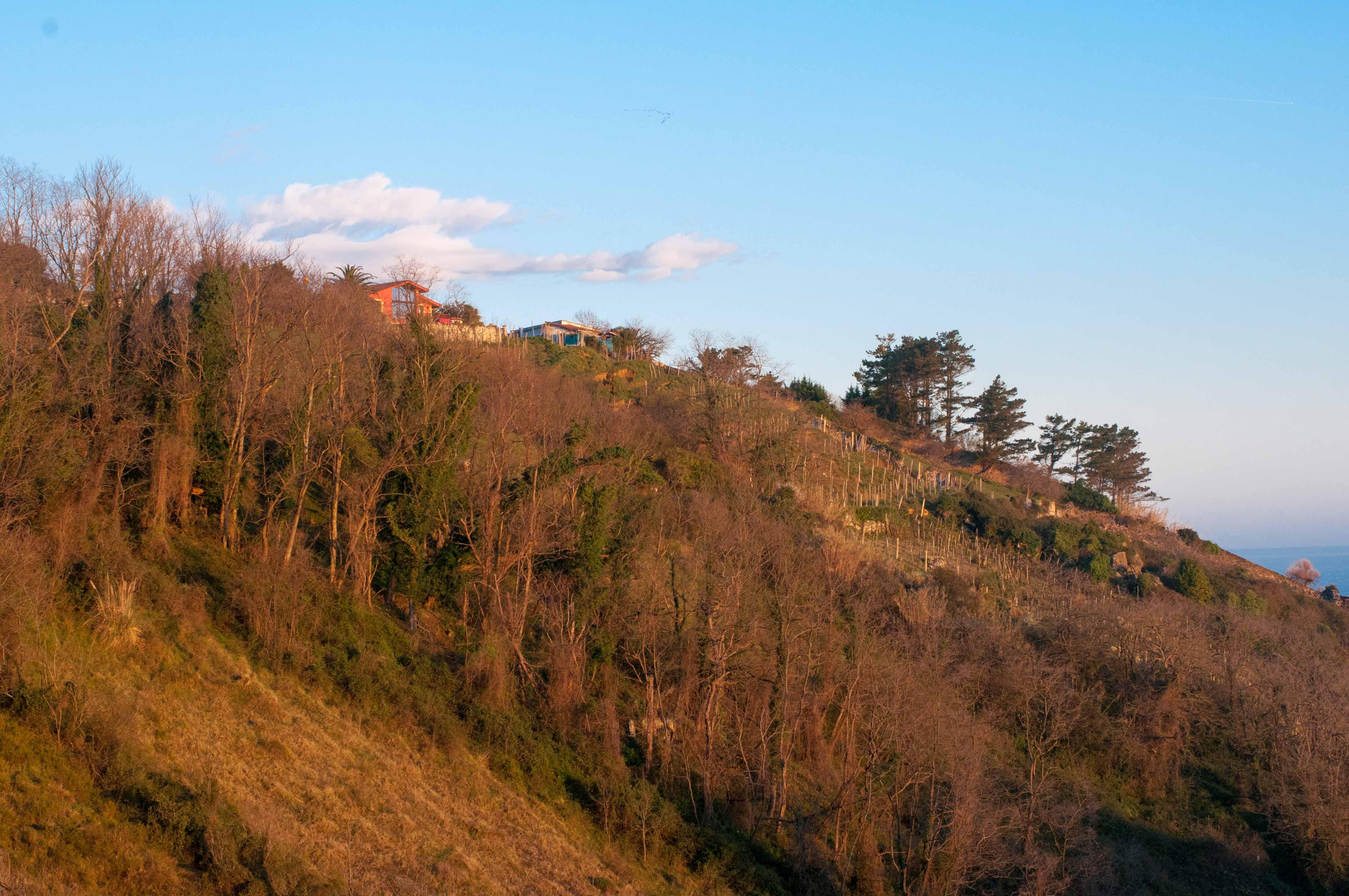 Morgenlicht Getaria Baskenland