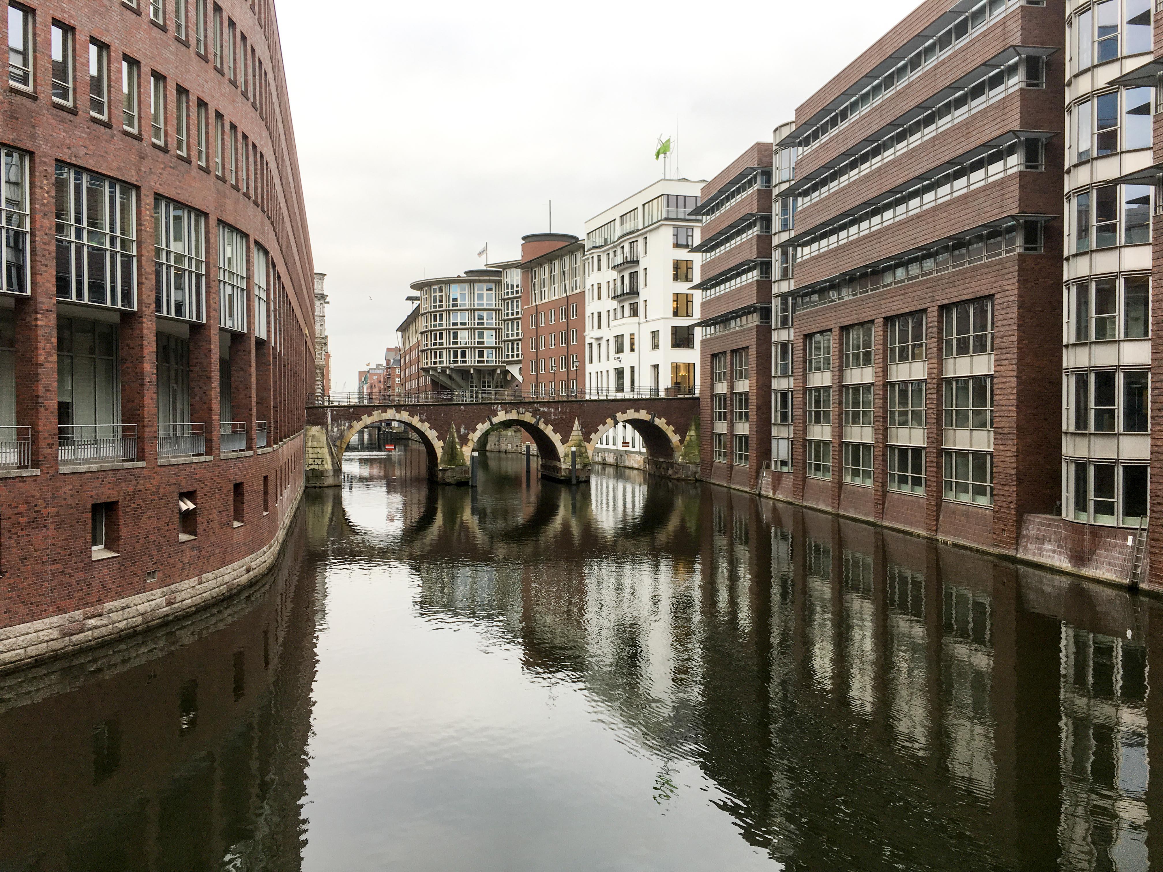 Kanal Fleet Hamburg