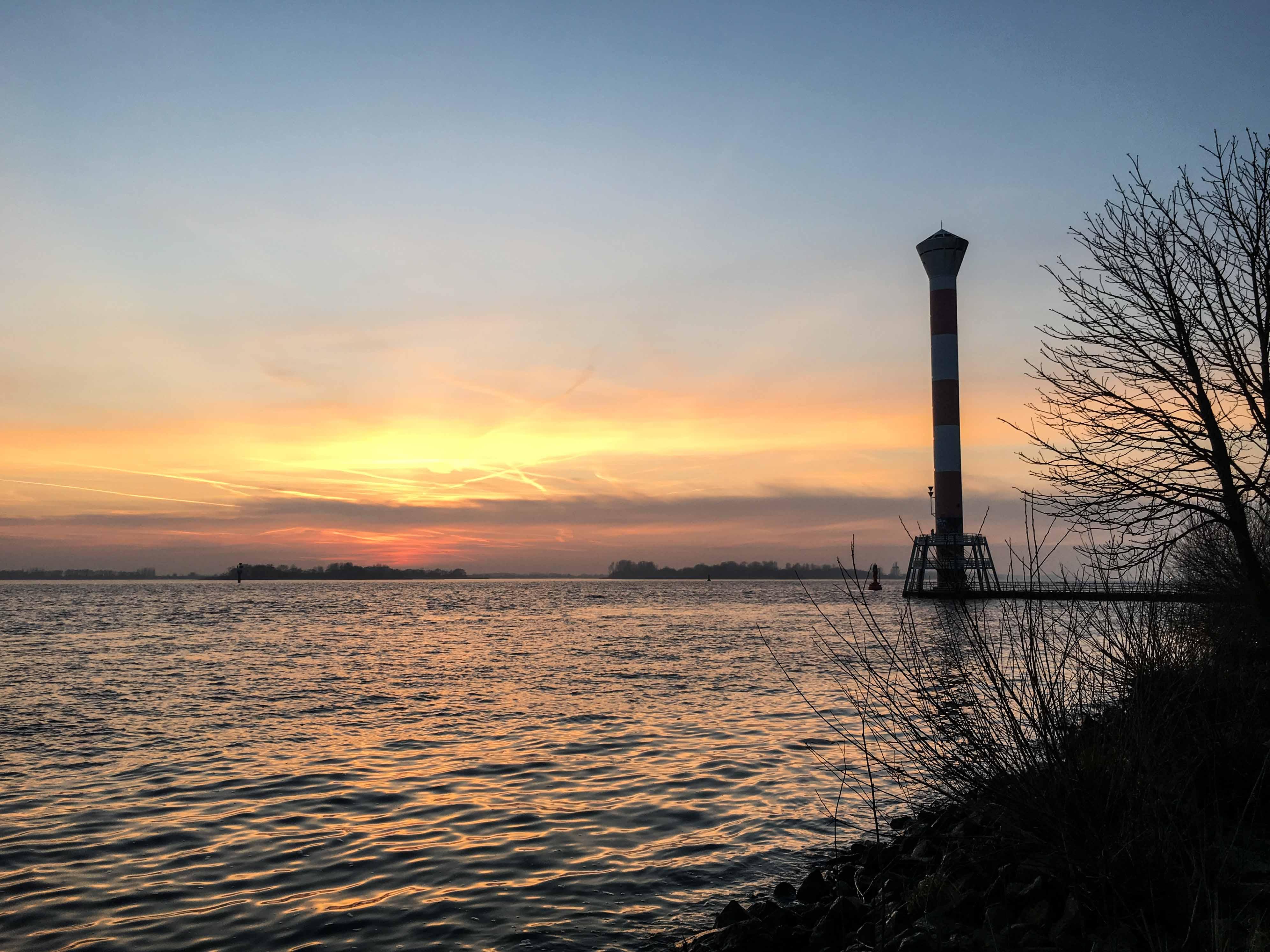 Sonnenuntergang Blankenese