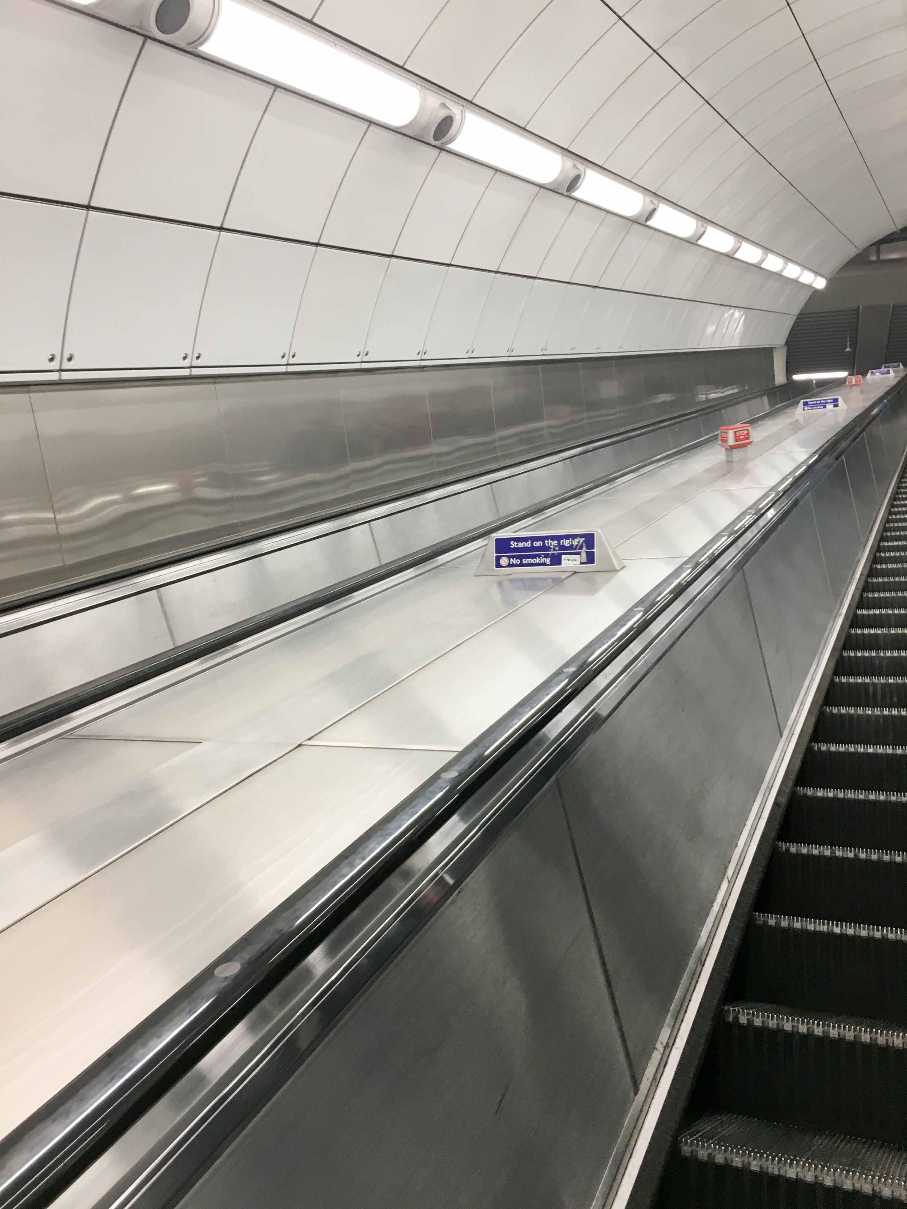 Fahrtreppe London