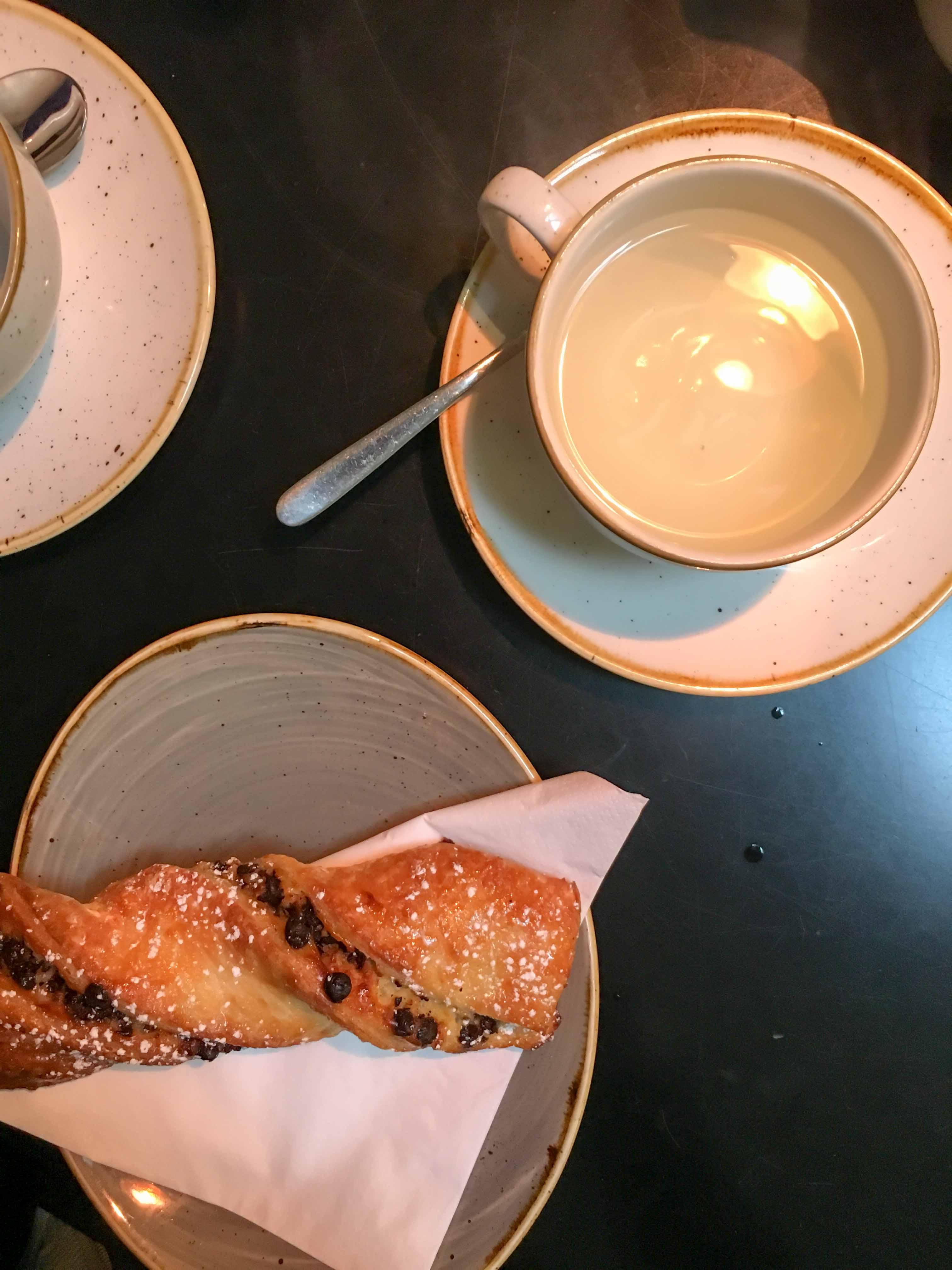 glutenfreie Schokostange Beyond Bread London