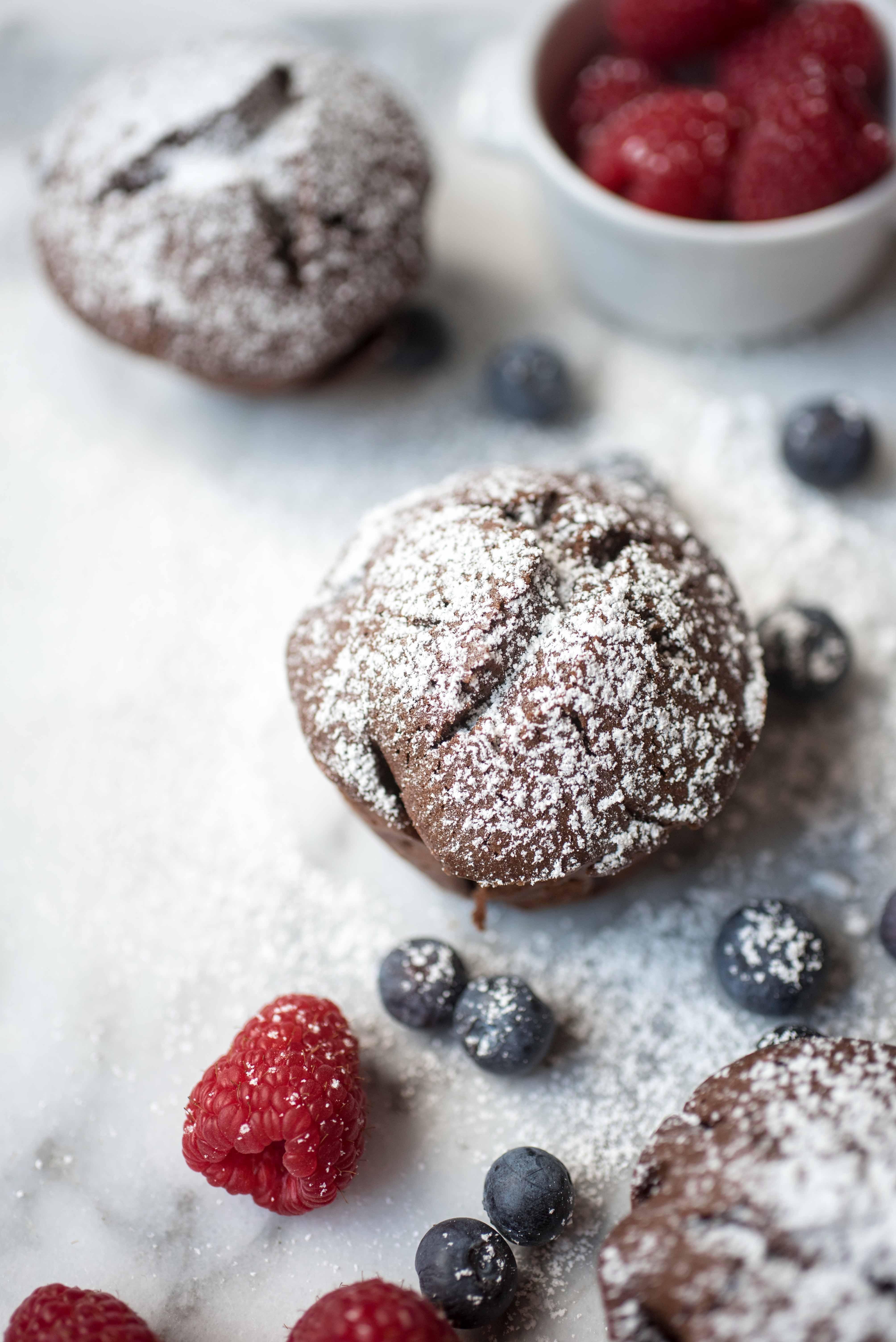 Schokoladenmuffins glutenfr