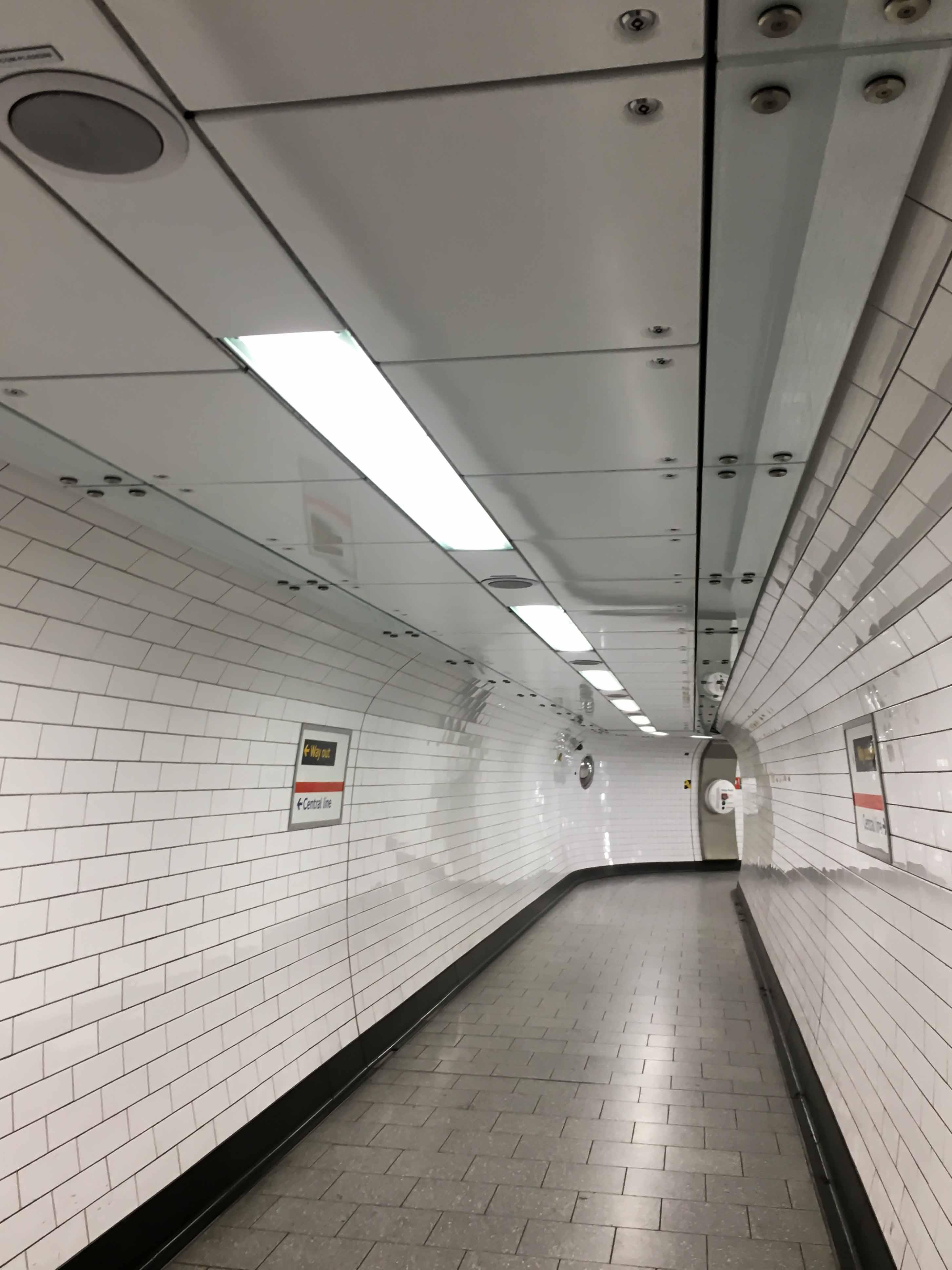 Tunnel Untergrund London