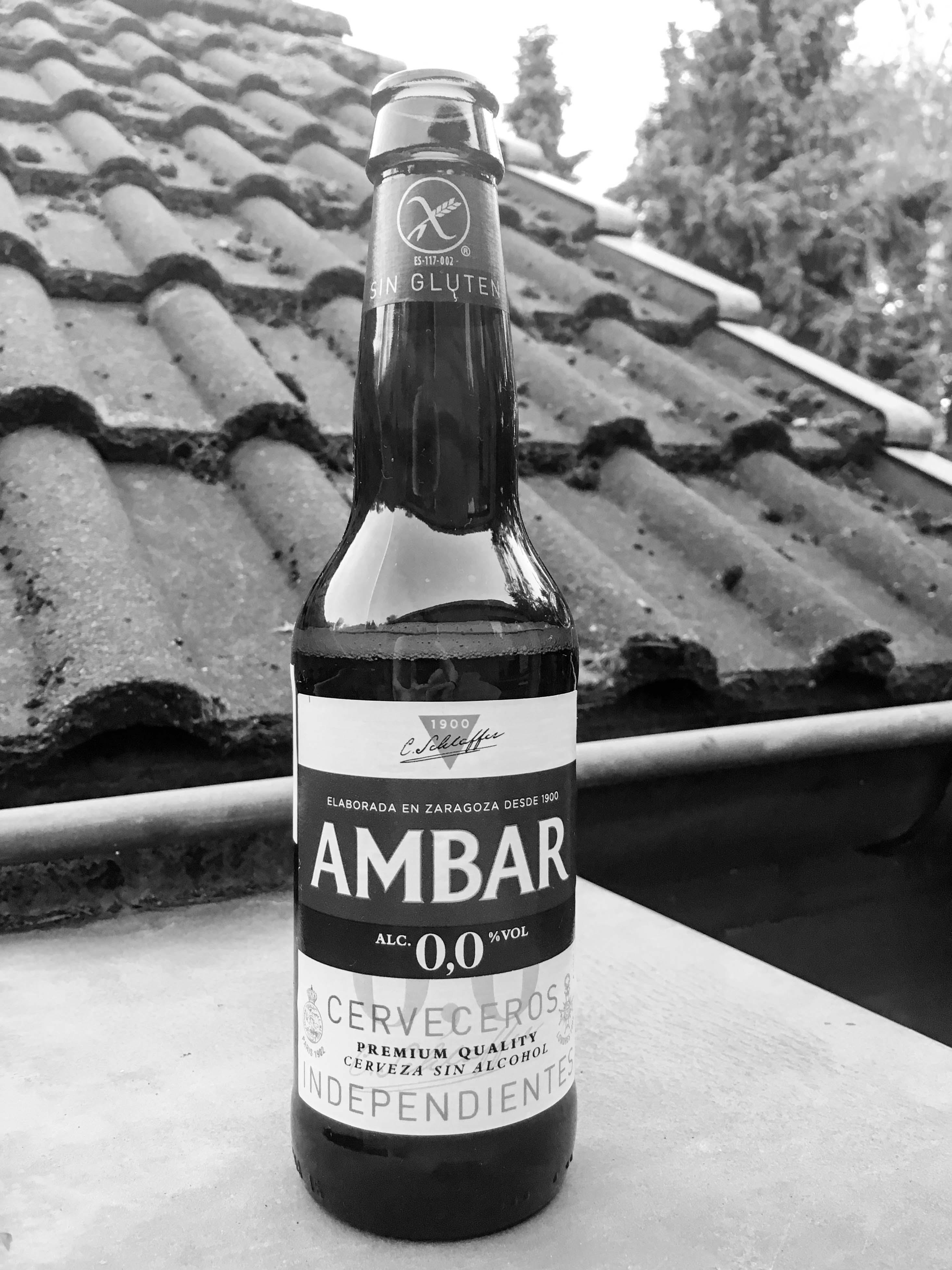 glutenfreies alkoholfreies spanisches Bier AMBAR