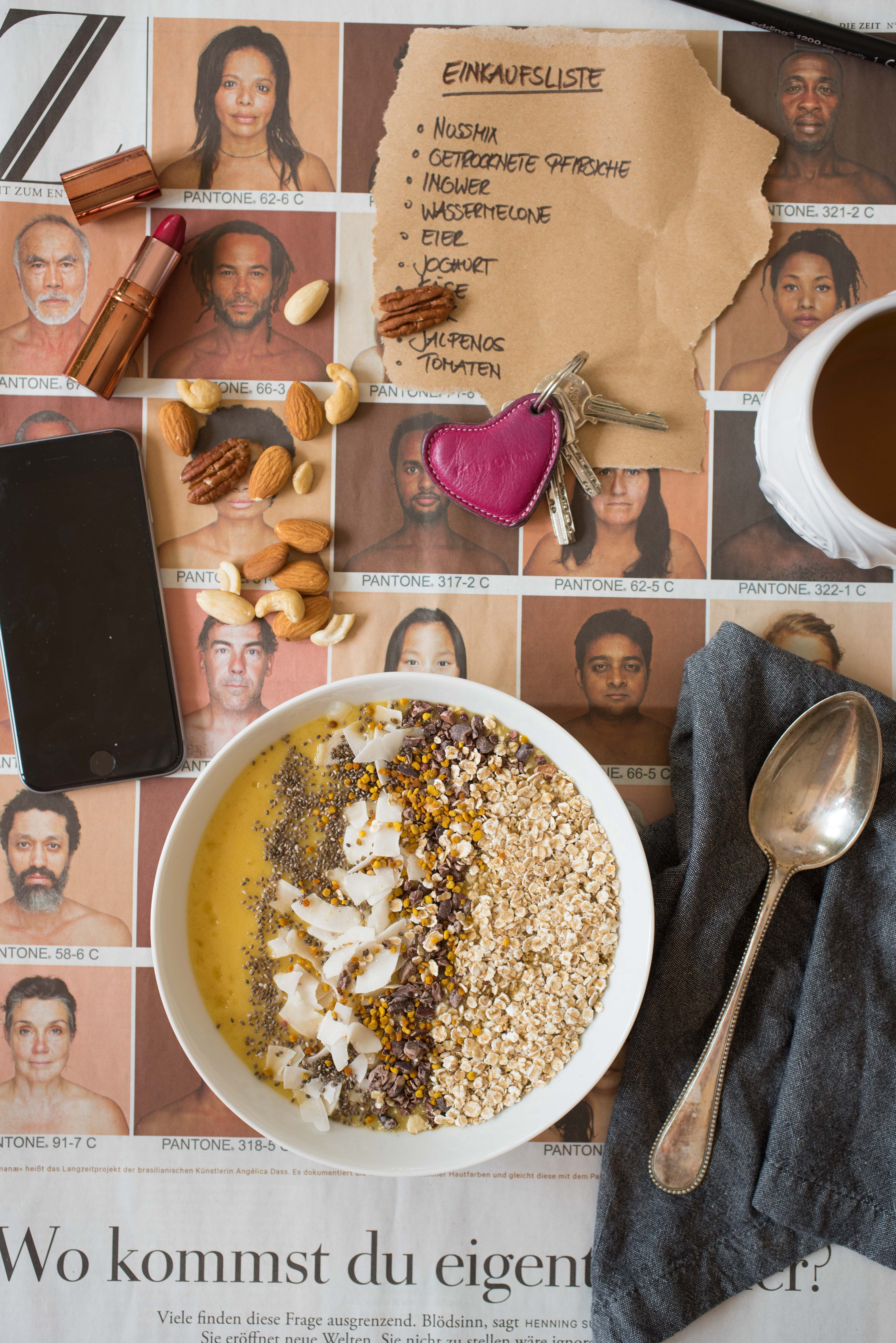 Passionsfrucht Smoothie Bowl