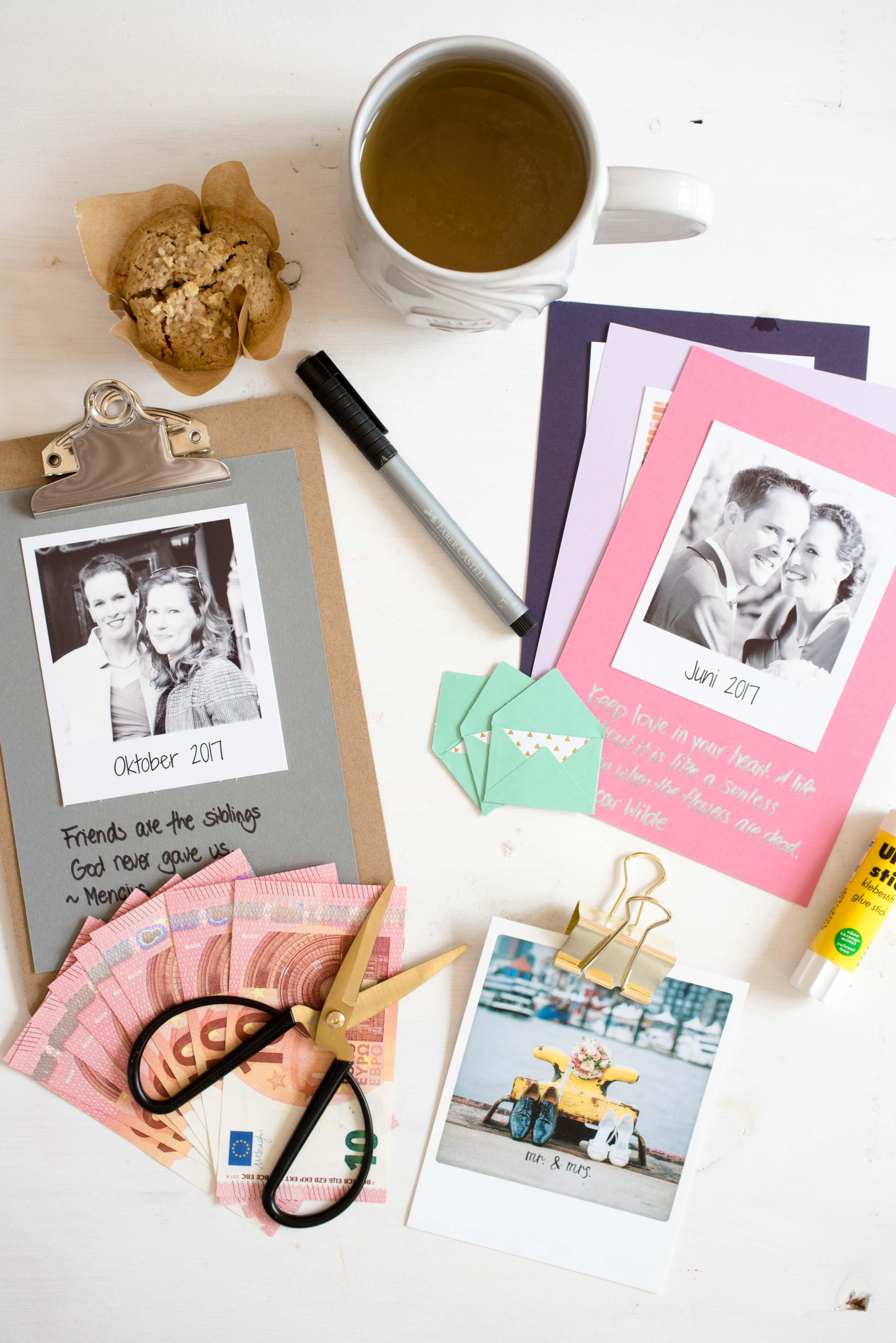 Kalender DIY mit Polaroid