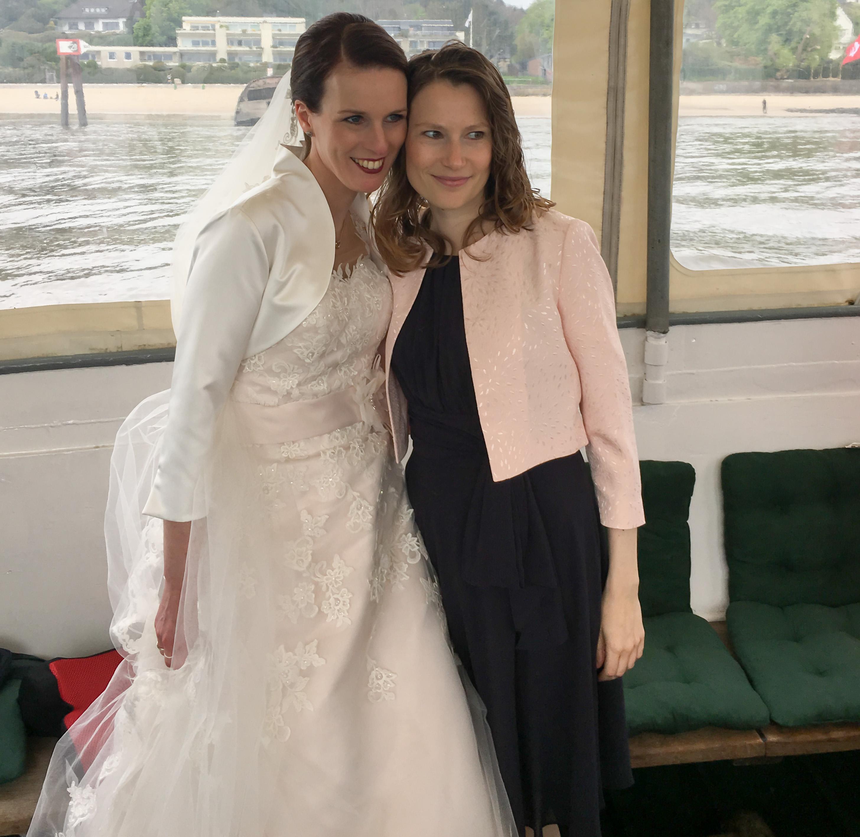 Braut und Christine