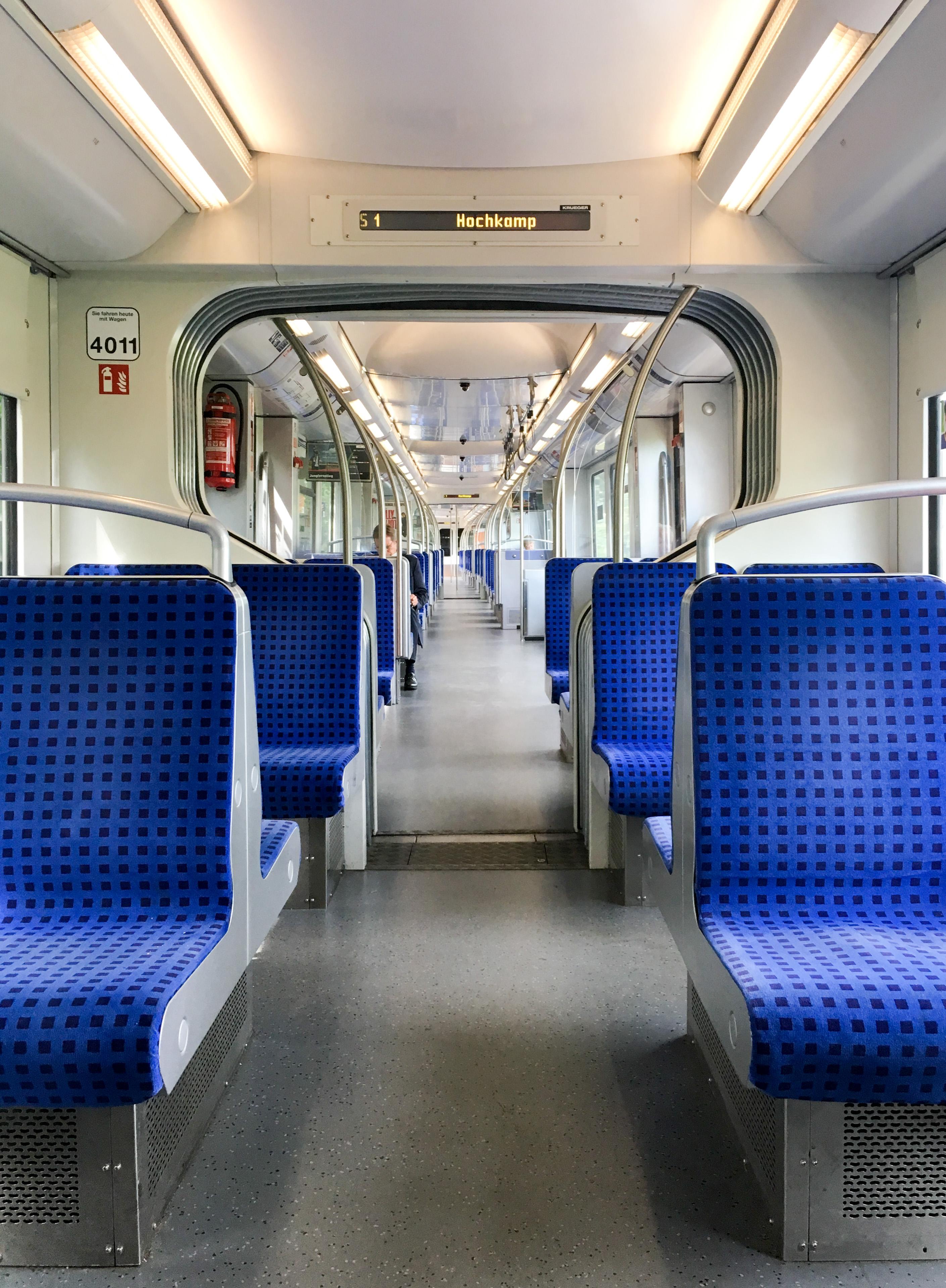 Ziehharmonika S-Bahn