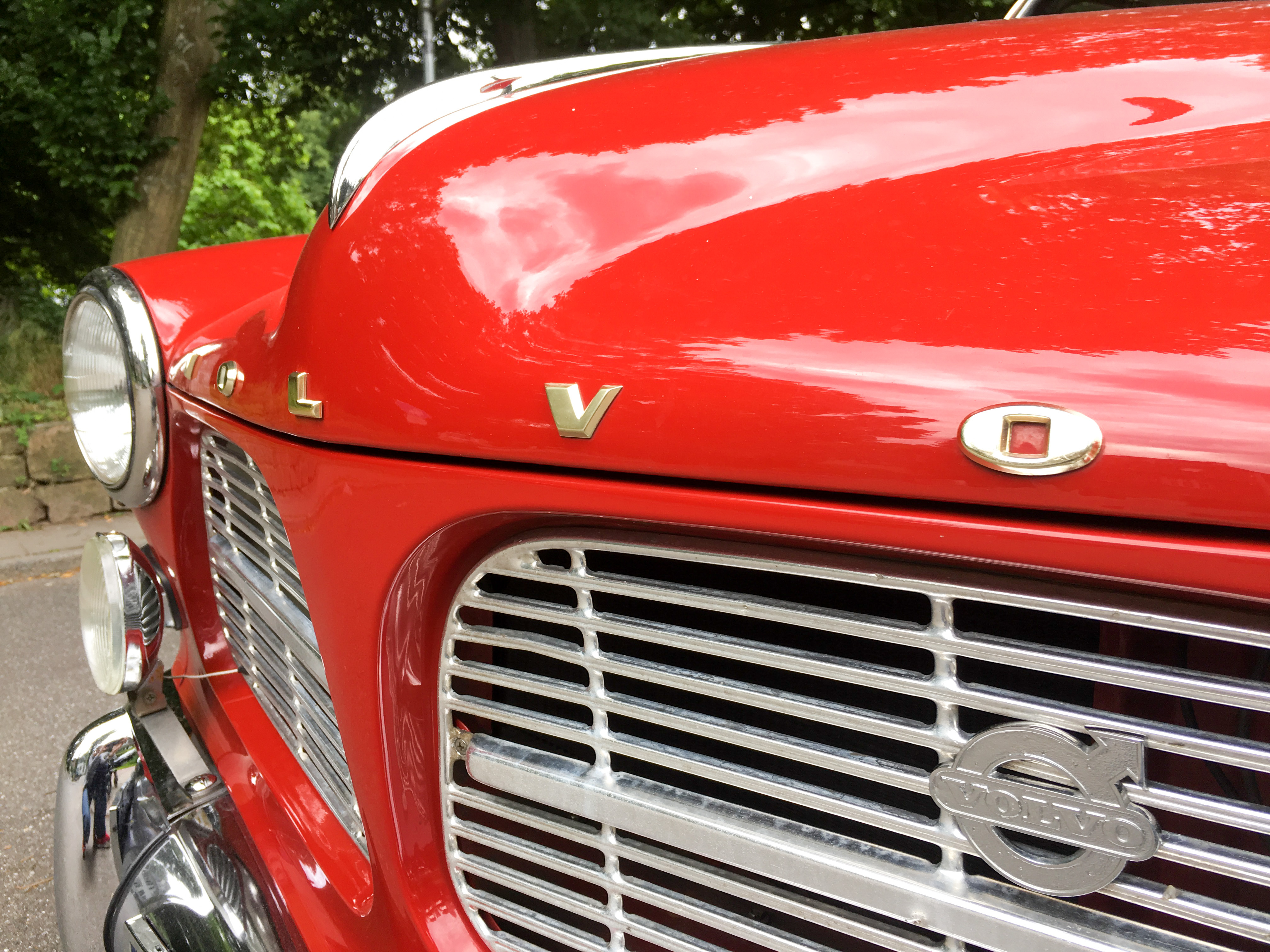 roter alter Volvo