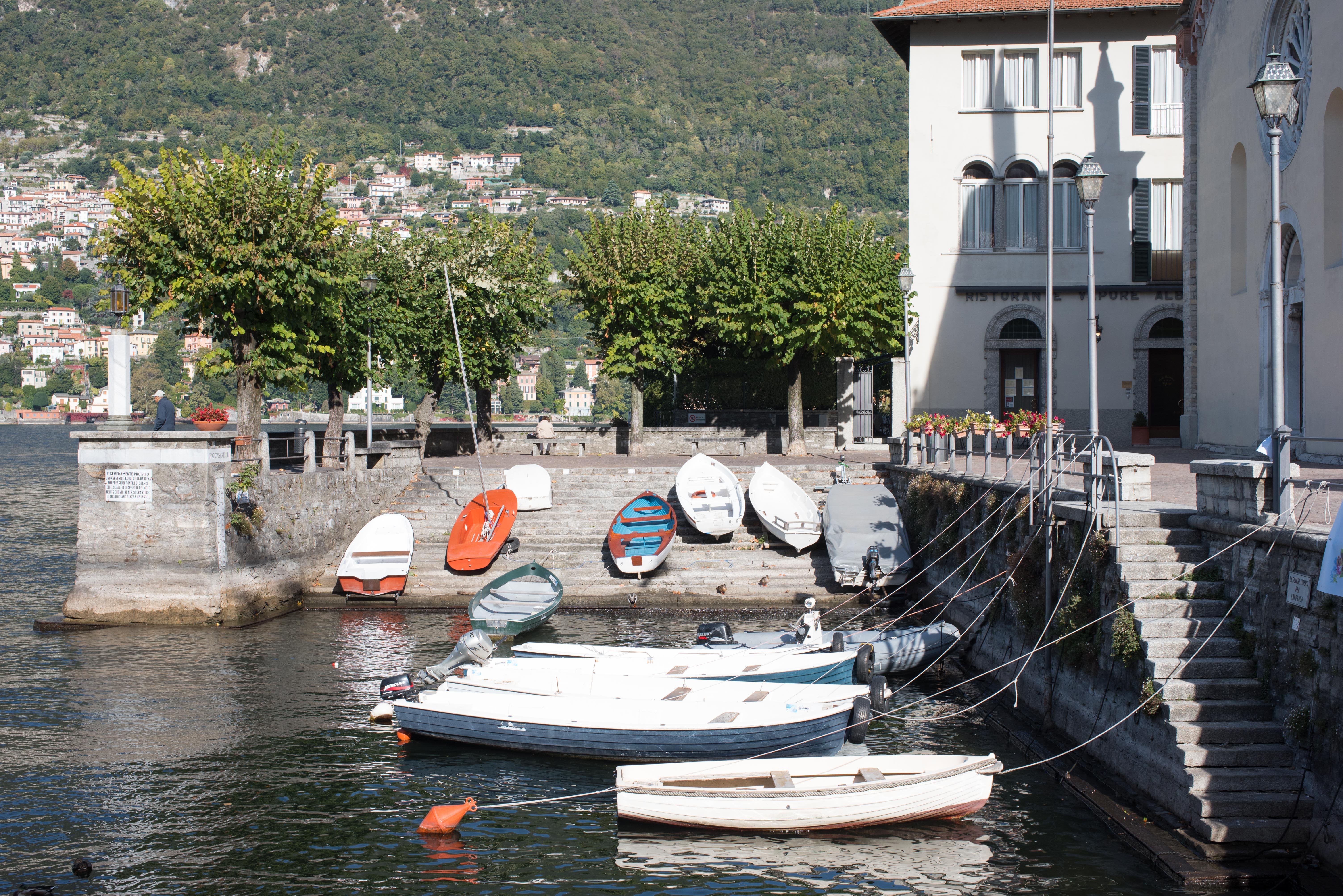 Hafen von Torno