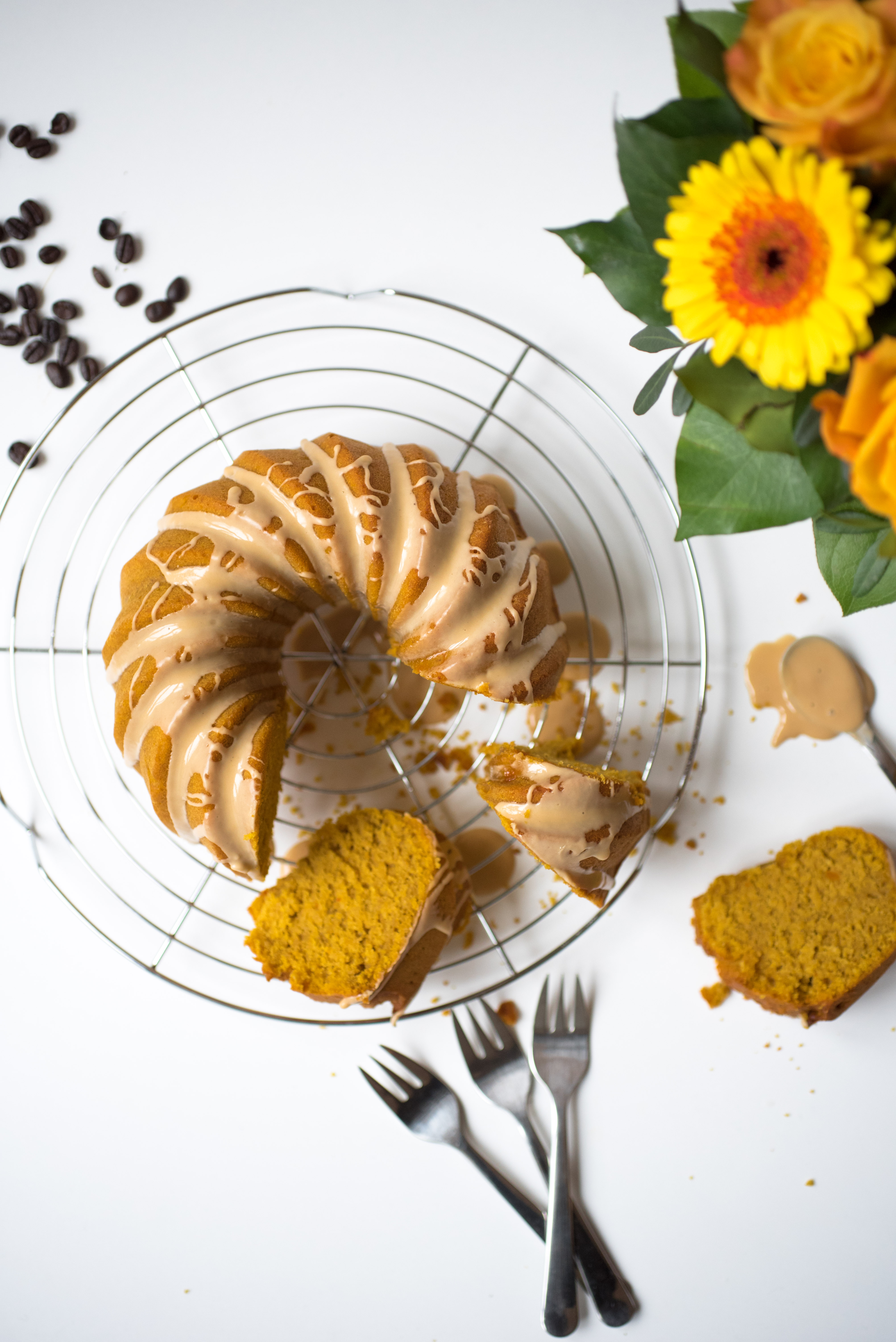 Pumpkin Coffee Cake gluten free