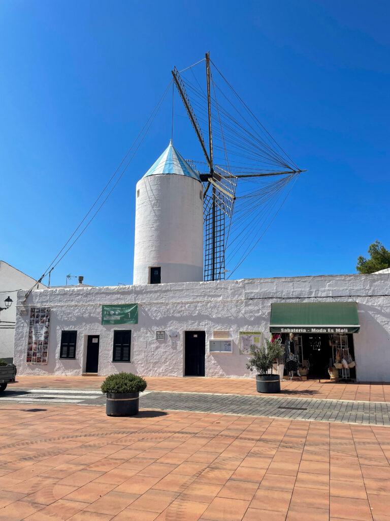 Sant Lluis Windmühle